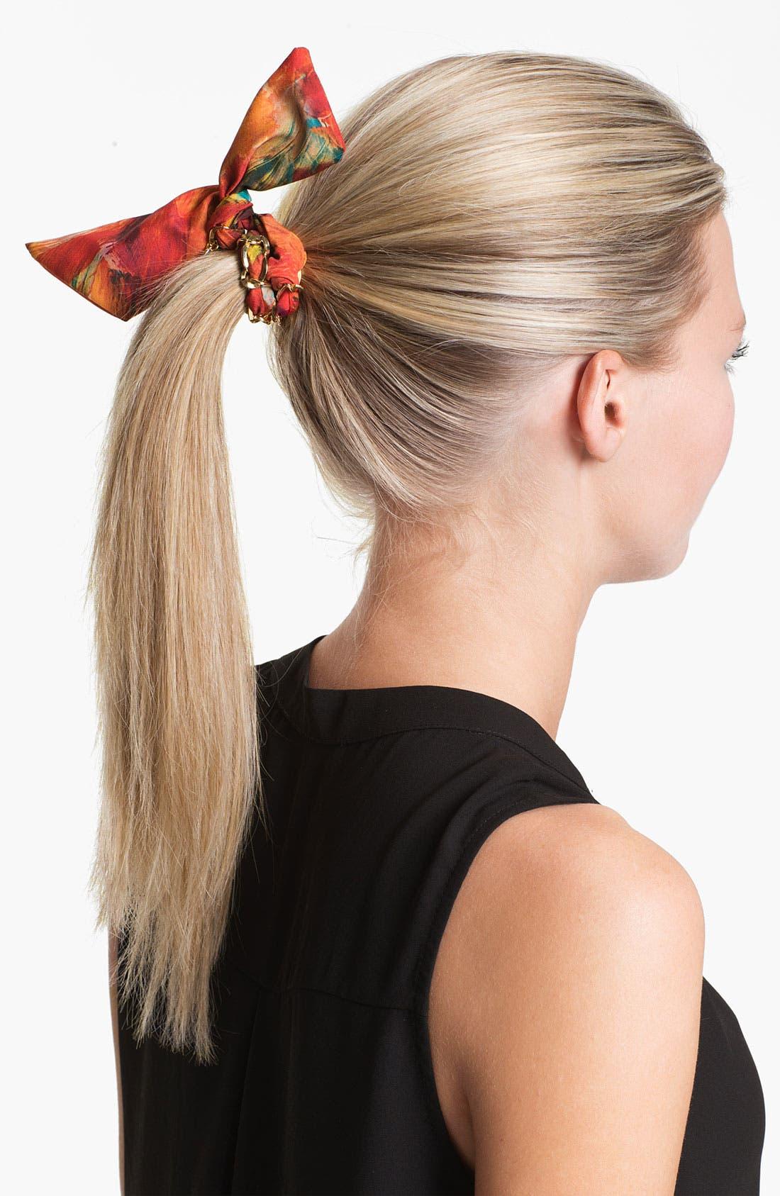 Main Image - Cara 'Brush Strokes' Ponytail Wrap