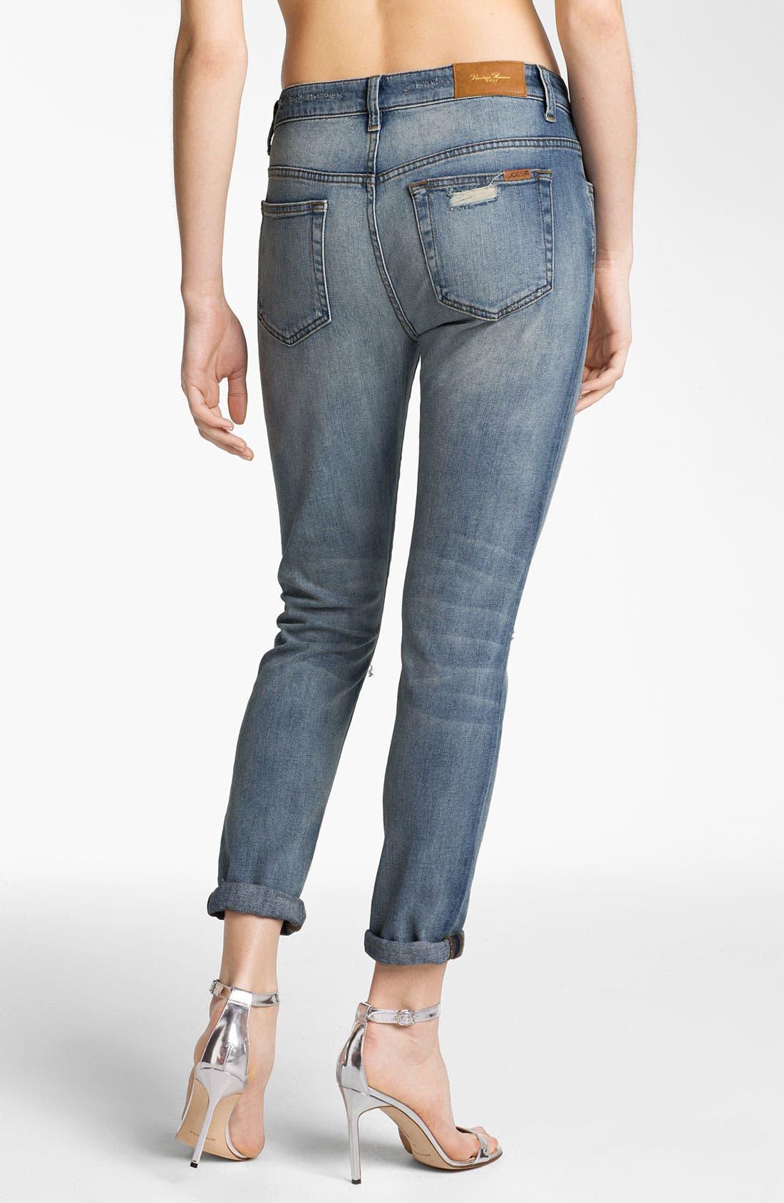Alternate Image 2  - Joe's 'High Water' Slouchy Skinny Crop Jeans (Nyore)