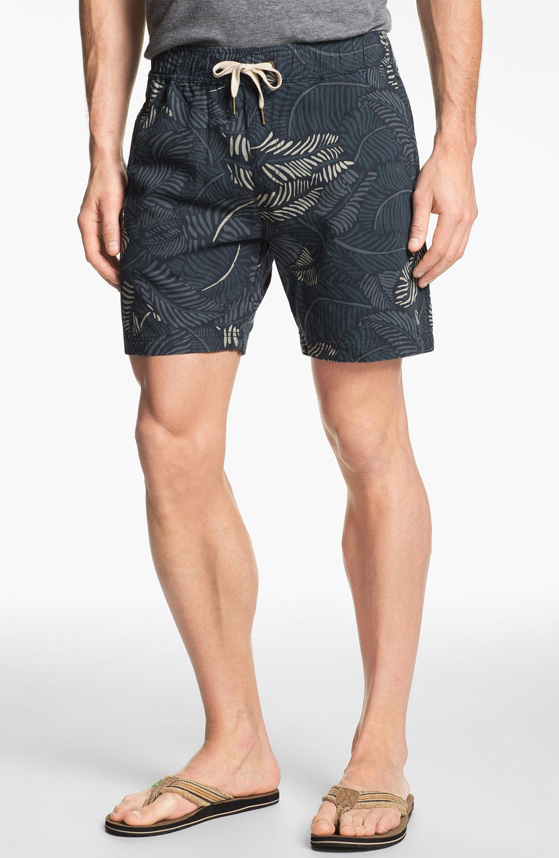 Alternate Image 1 Selected - Zanerobe 'Poleho' Print Pattern Shorts