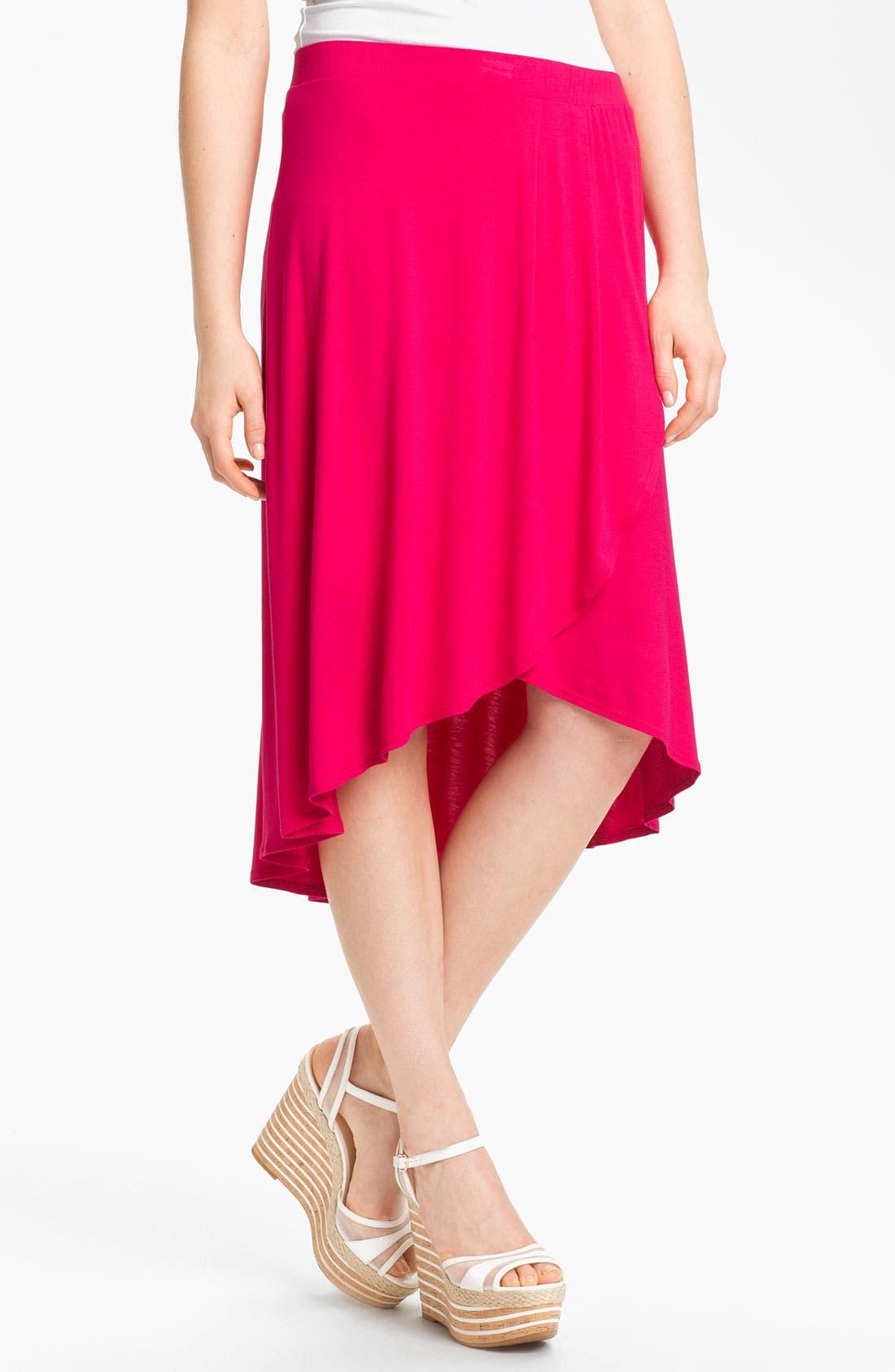 Main Image - MOD.lusive Faux Wrap Skirt