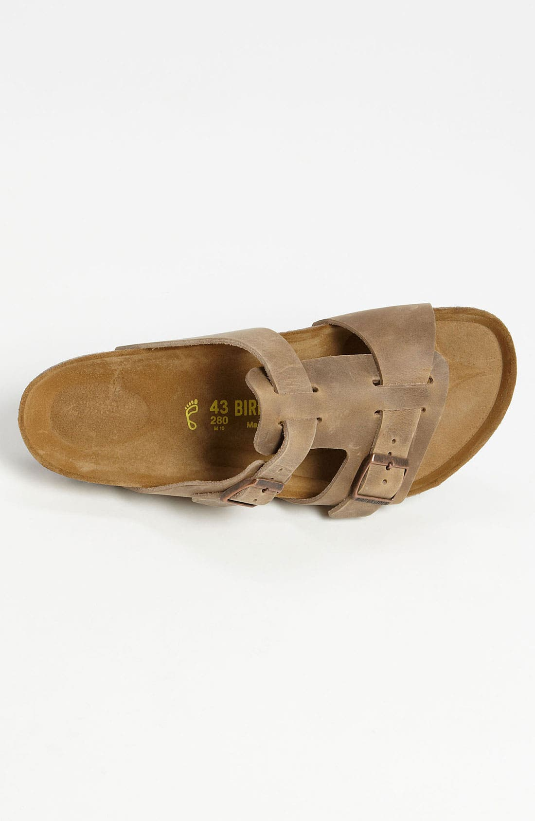 Alternate Image 3  - Birkenstock 'Riva' Slide (Men)