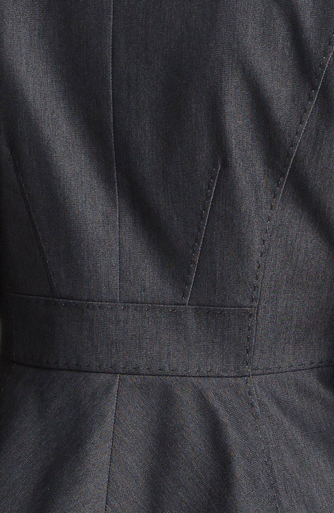 Alternate Image 5  - Halogen® Black Denim Suit Jacket