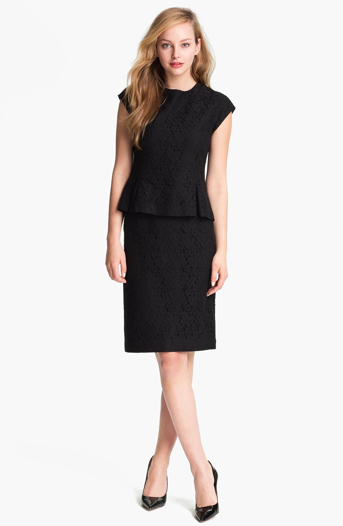 Alternate Image 4  - Halogen® Lace Pencil Skirt