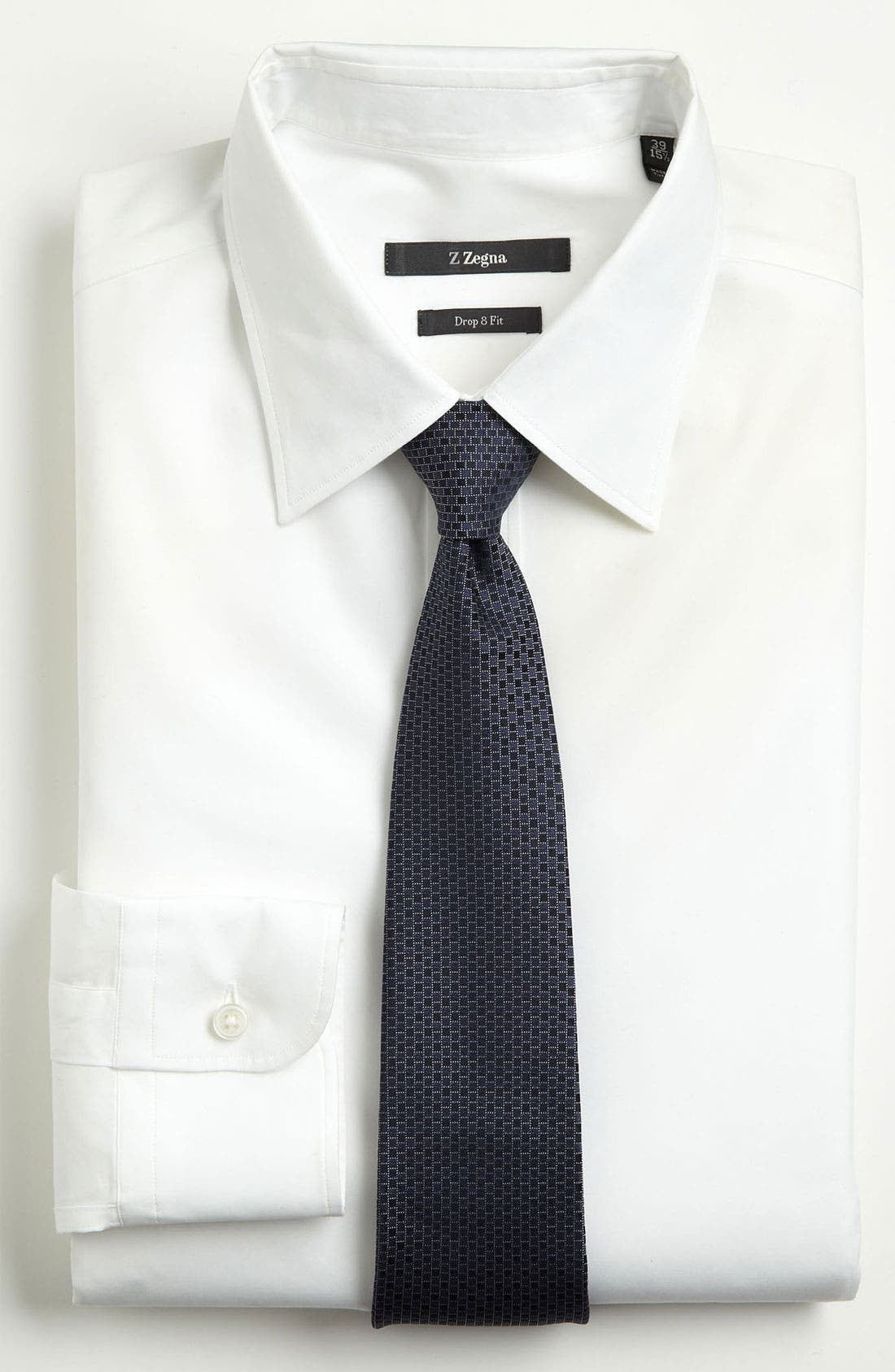 Alternate Image 2  - Z Zegna Pattern Woven Silk Tie