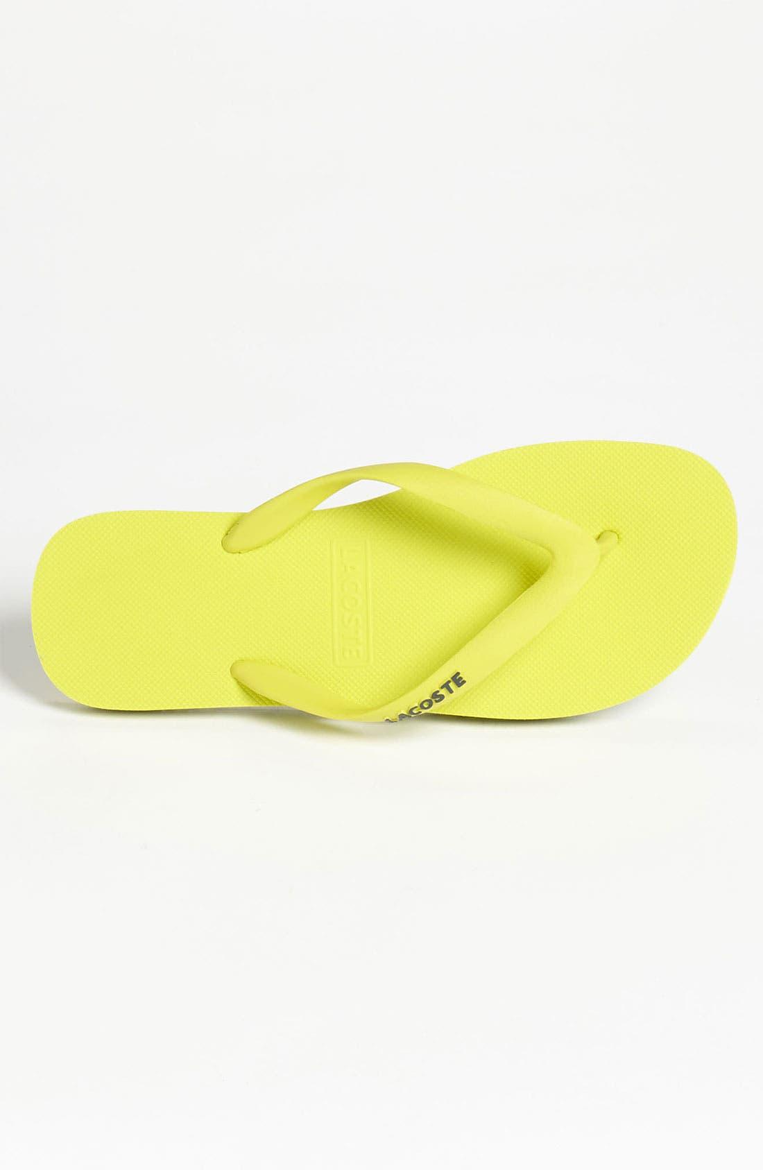 Alternate Image 3  - Lacoste 'Nosara Jaw' Flip Flop (Men)