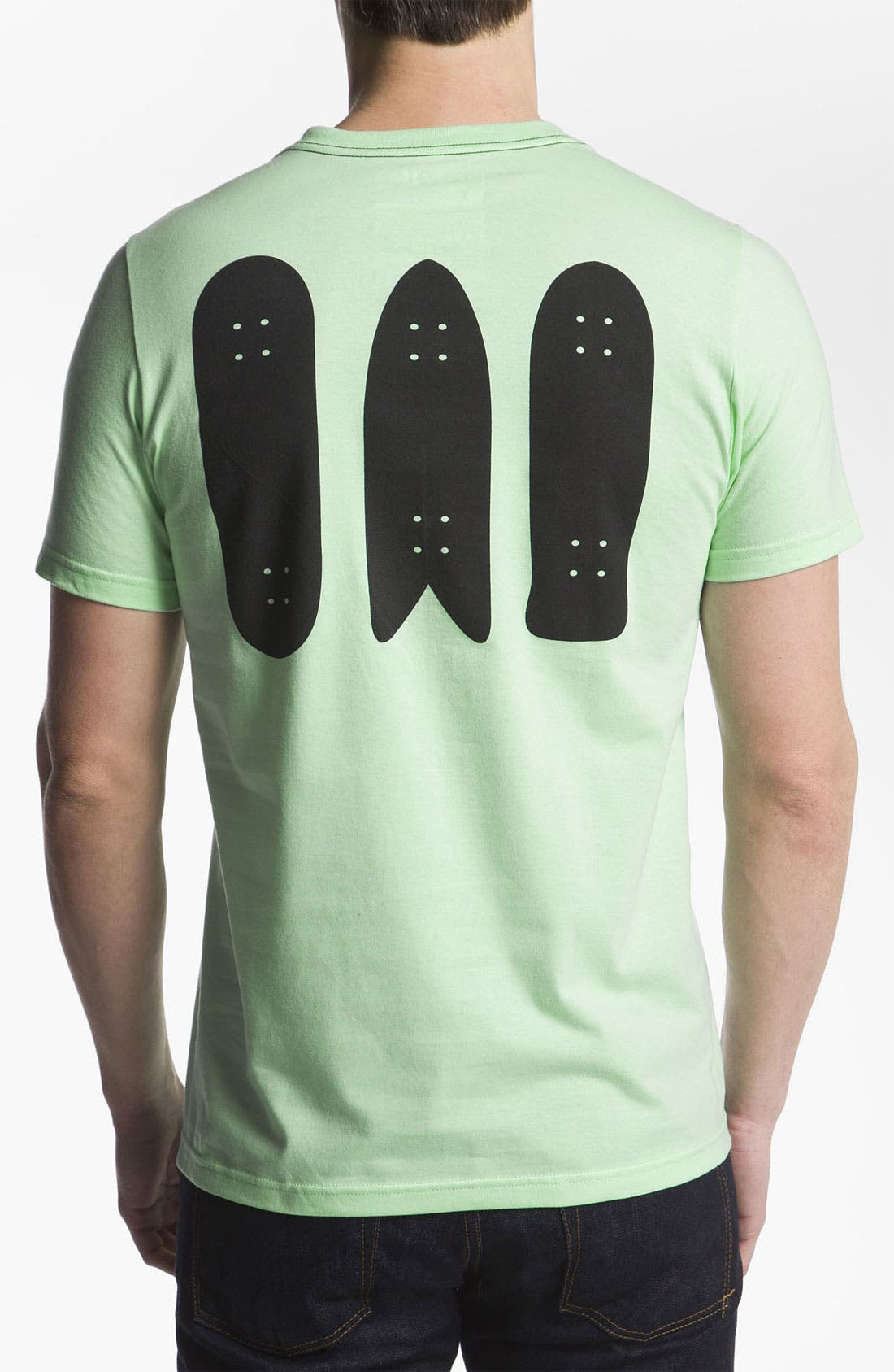 Alternate Image 2  - Hurley 'Fish Skate' T-Shirt