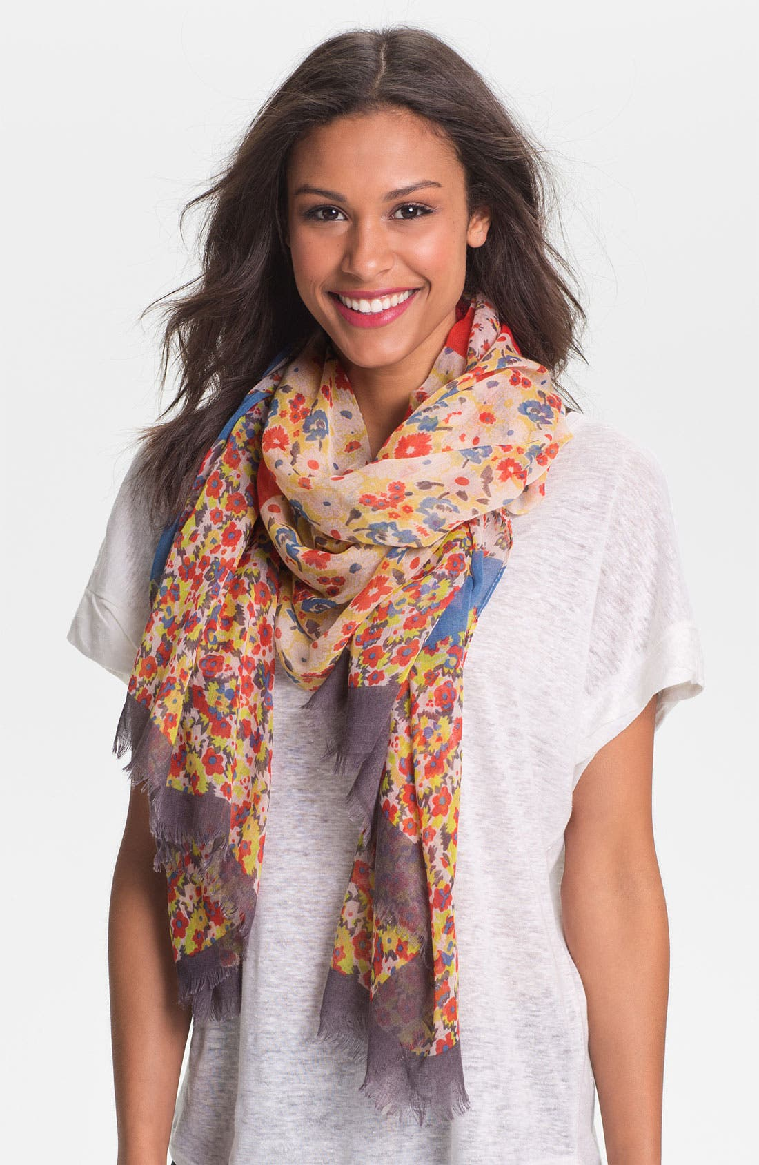 Alternate Image 1 Selected - Tasha 'Country Floral' Scarf