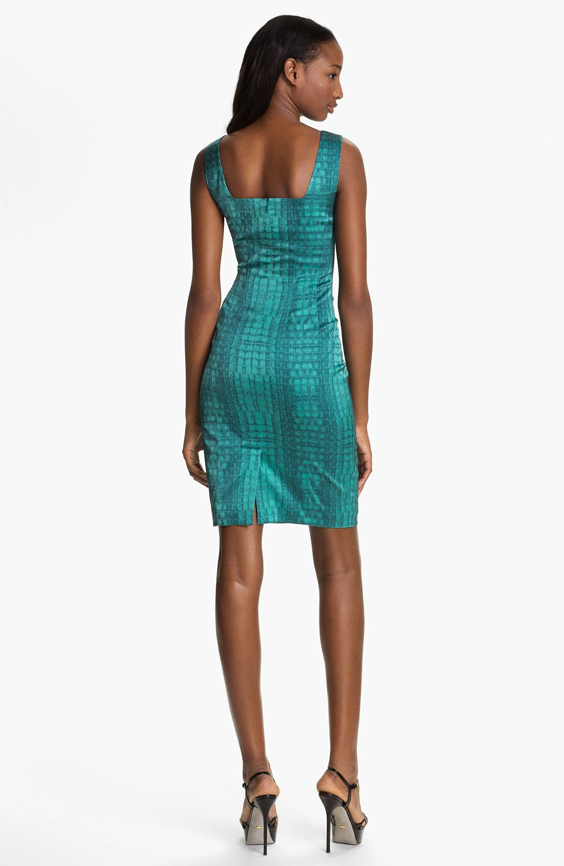 Alternate Image 2  - Jay Godfrey 'Balti' Alligator Print Dress (Nordstrom Exclusive)