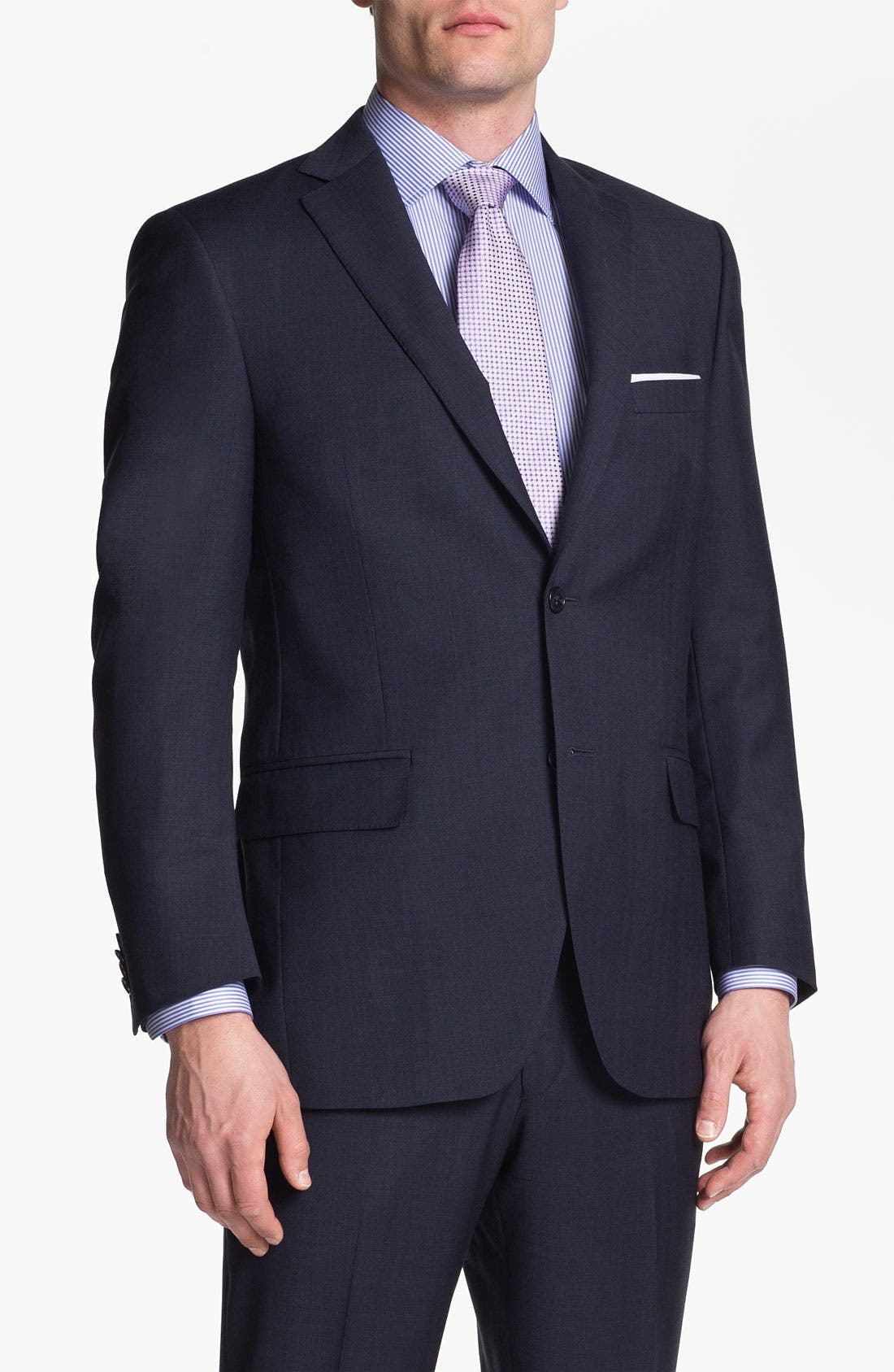 Alternate Image 1 Selected - Peter Millar Wool Suit