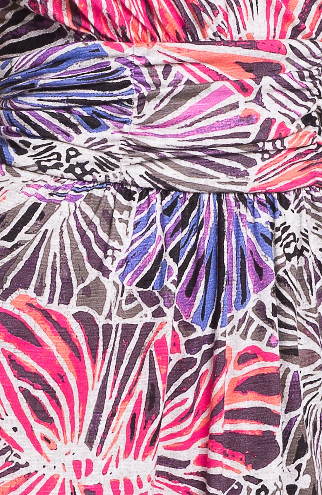 Alternate Image 3  - Nic + Zoe Sleeveless Surplice V-Neck Print Dress