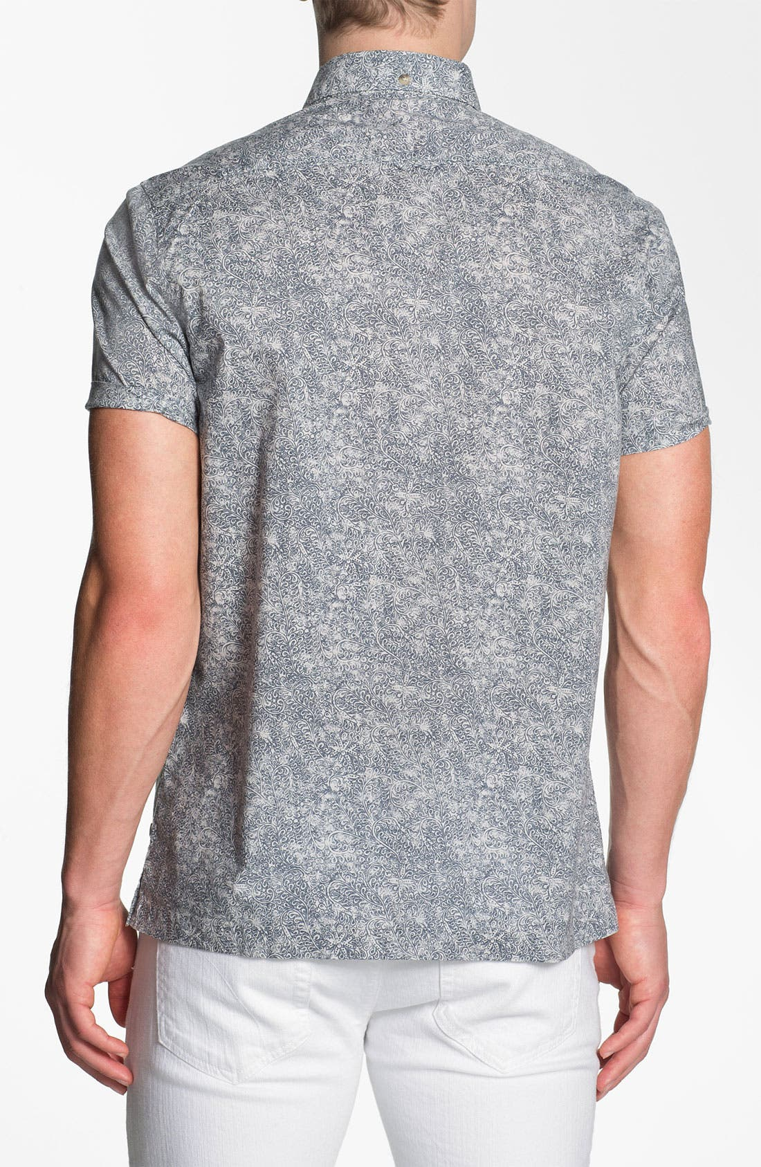 Alternate Image 2  - PLECTRUM by Ben Sherman Print Woven Shirt