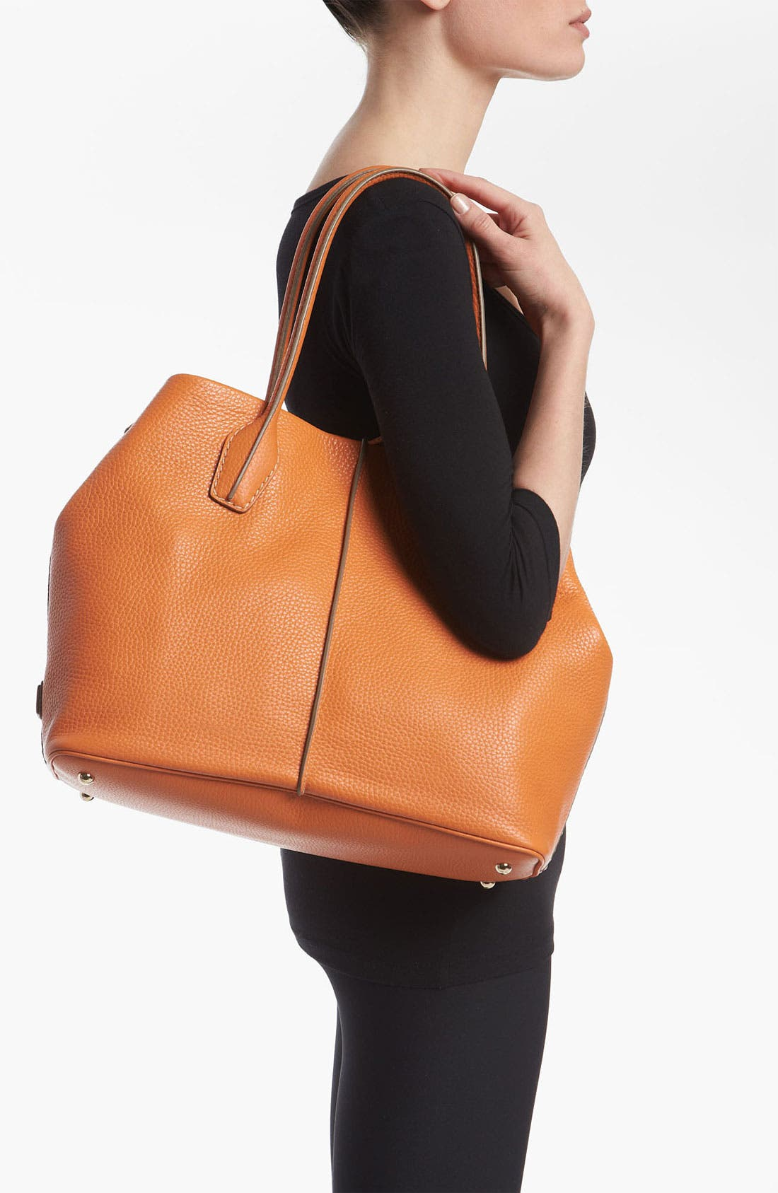 Alternate Image 2  - Tod's 'D-Styling' Leather Shopper