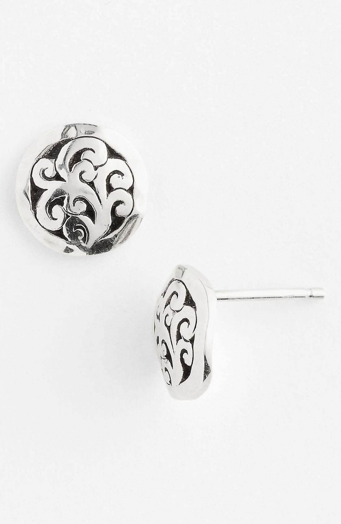 Alternate Image 1 Selected - Lois Hill 'Classy Cutout Waves' Small Stud Earrings