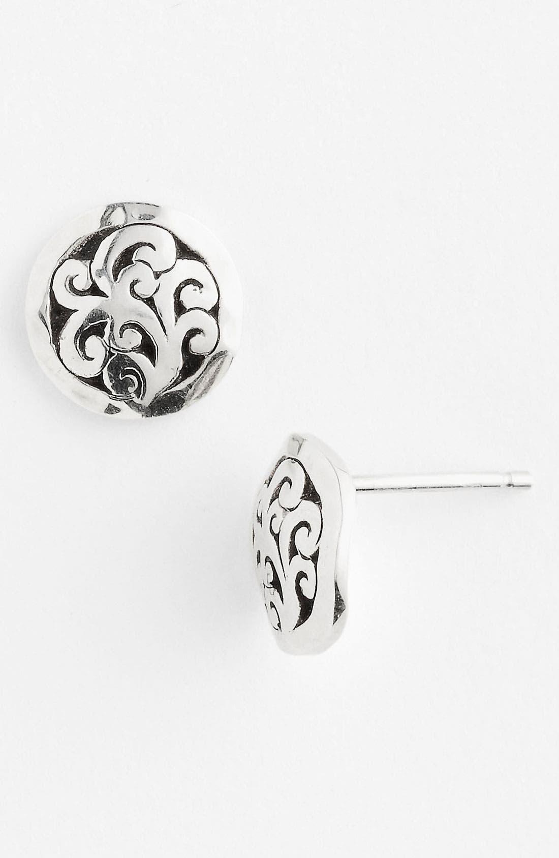 Main Image - Lois Hill 'Classy Cutout Waves' Small Stud Earrings
