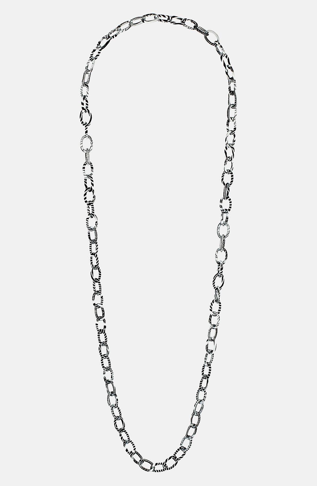 Main Image - Topshop 'Zebra' Chain Necklace