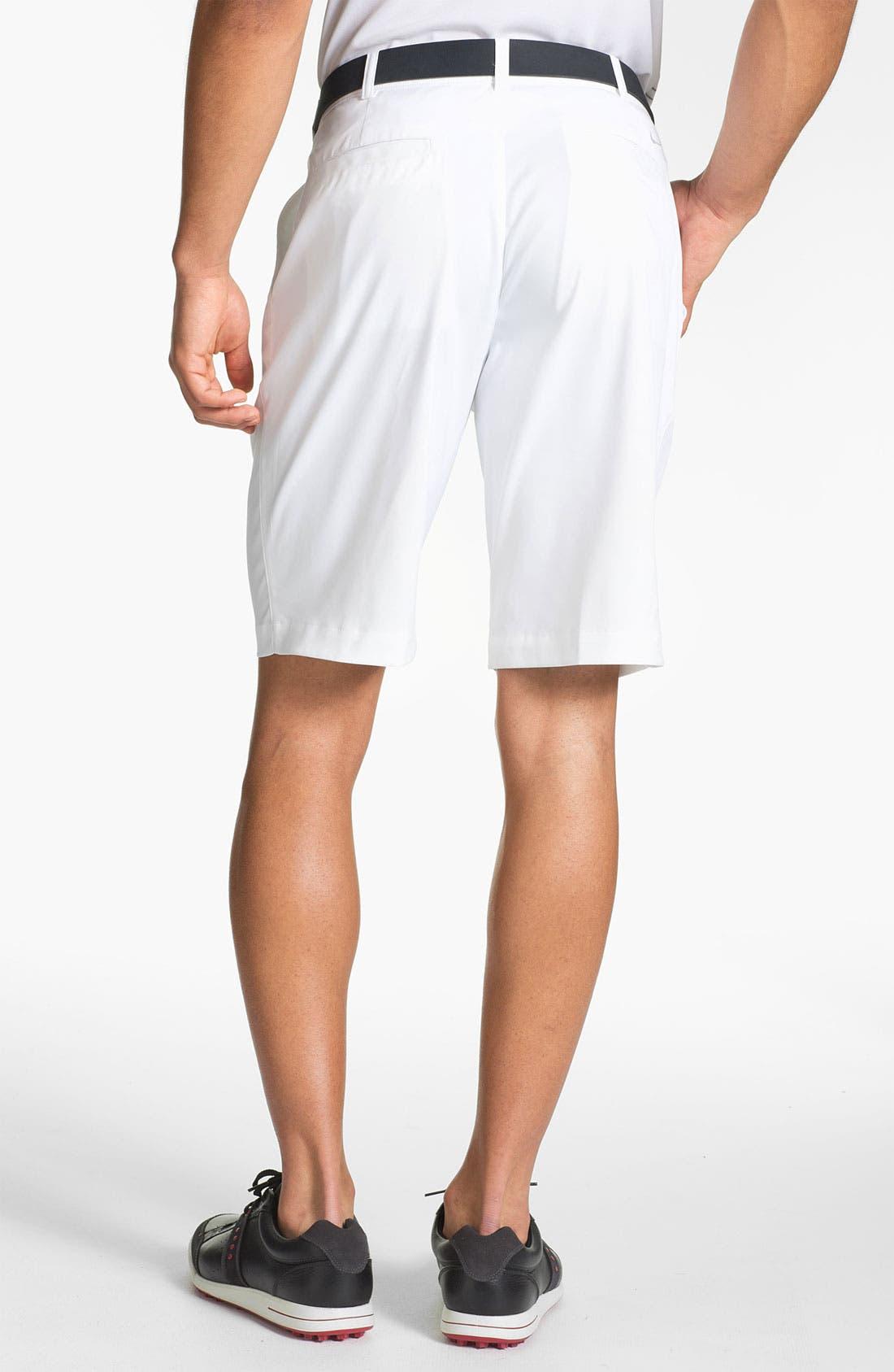 Alternate Image 2  - Nike Golf Flat Front Shorts