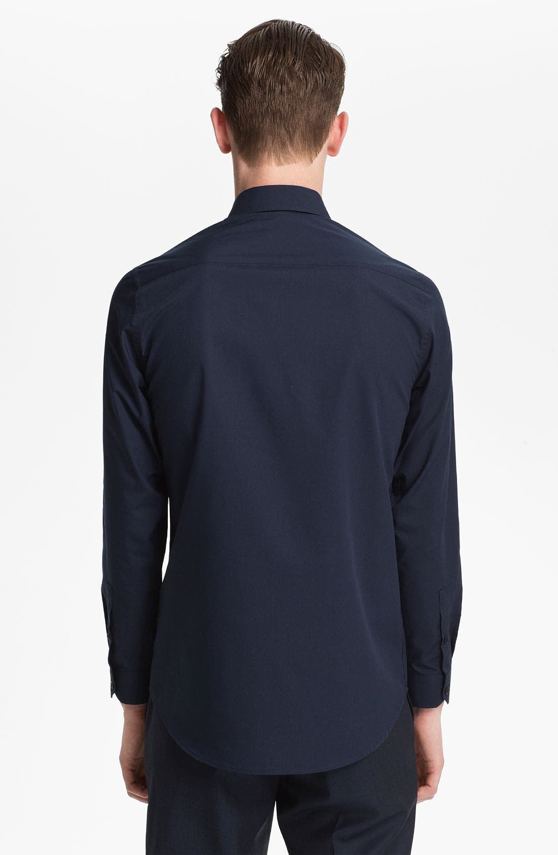 Alternate Image 2  - Topman Slim Fit Dress Shirt