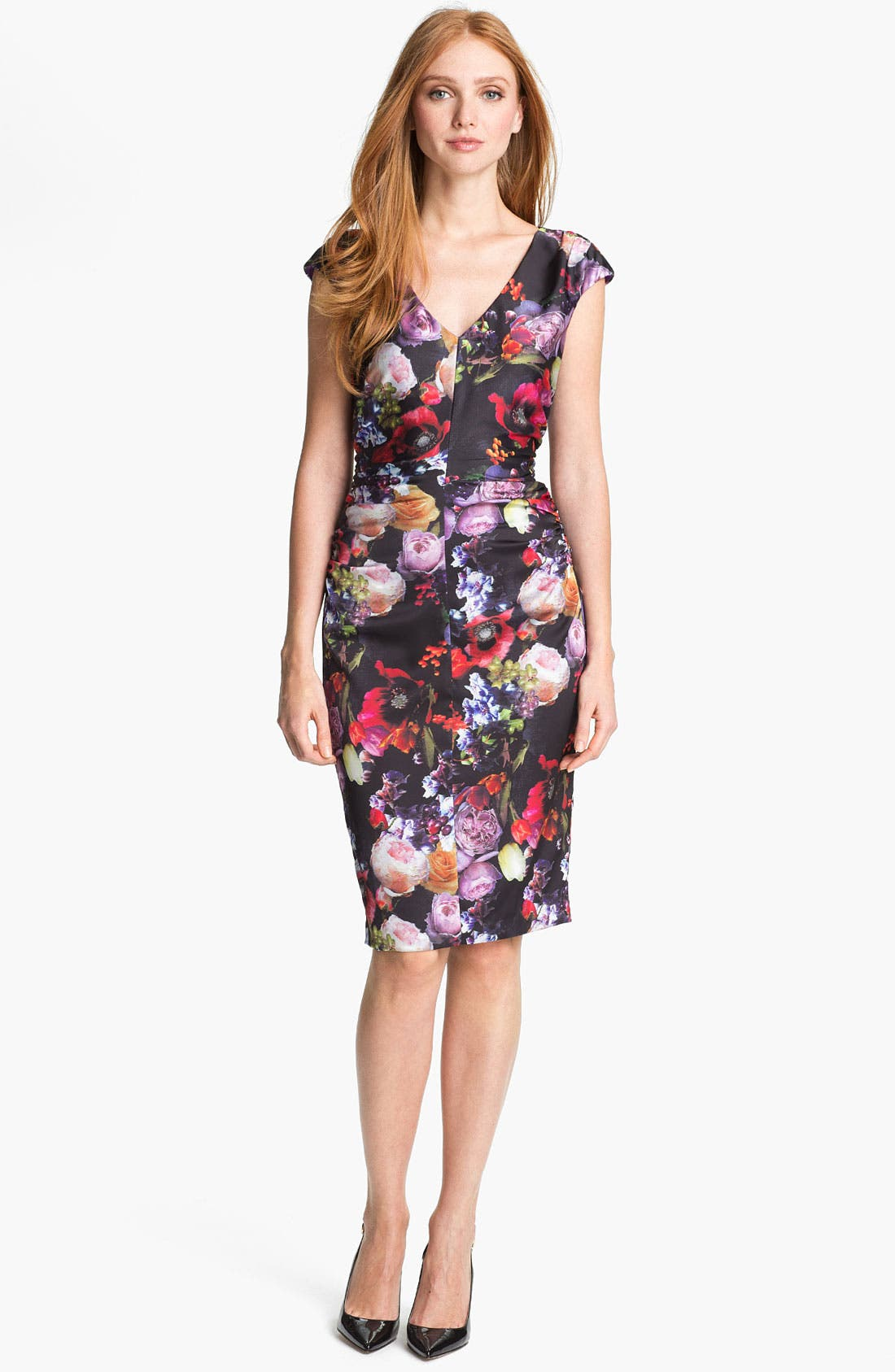 Main Image - Ivy & Blu Print Sheath Dress