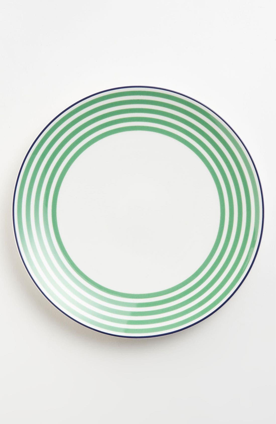 Alternate Image 1 Selected - kate spade new york 'wickford - felix street stripe' accent plate