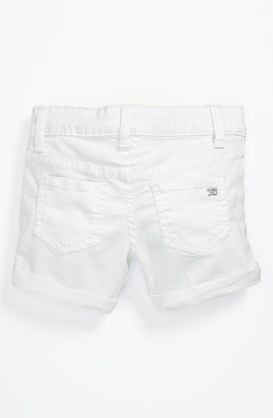Alternate Image 1 Selected - Joe's 'New Rolled Mini' Denim Shorts (Toddler Girls)
