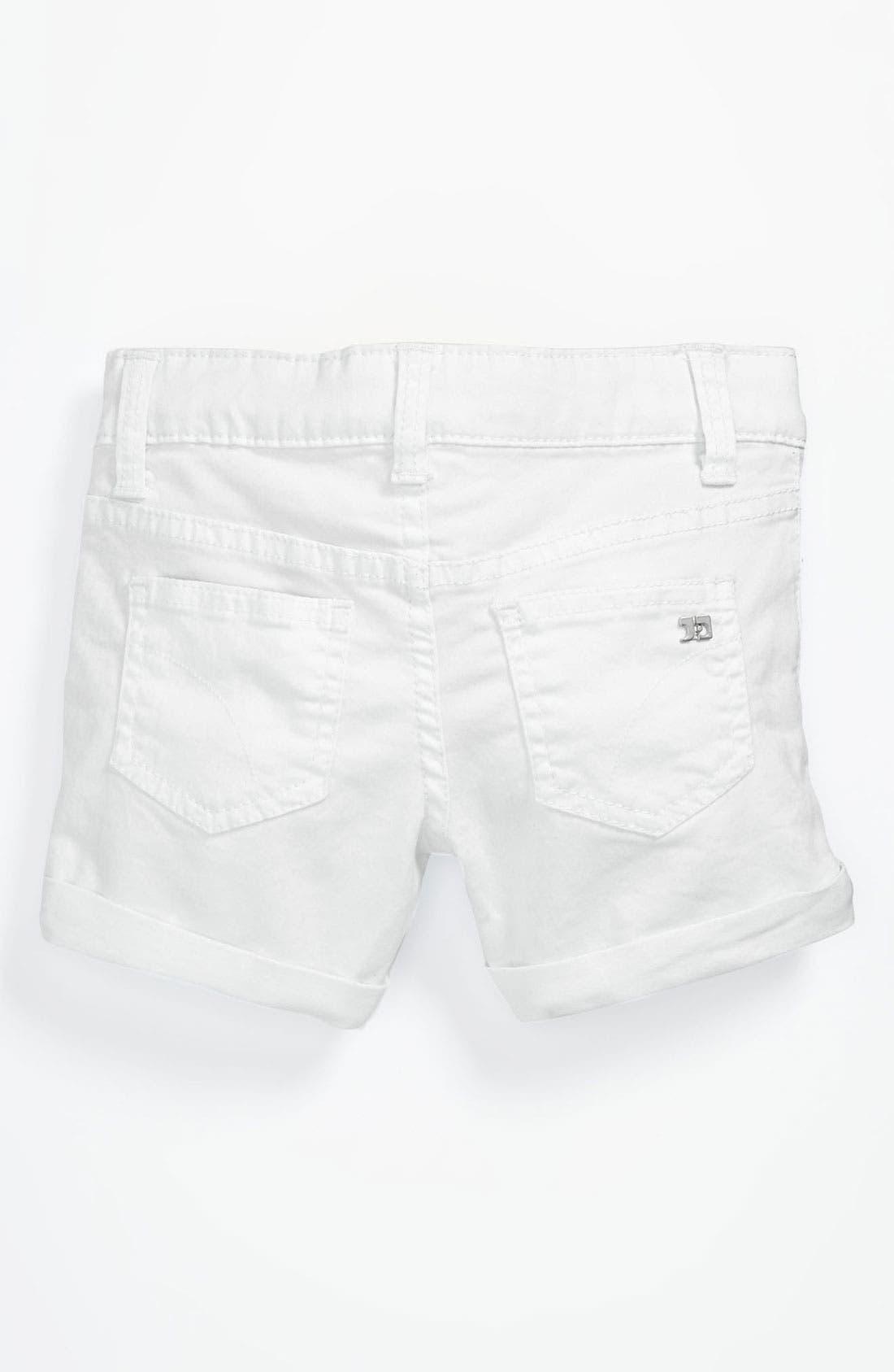Main Image - Joe's 'New Rolled Mini' Denim Shorts (Toddler Girls)