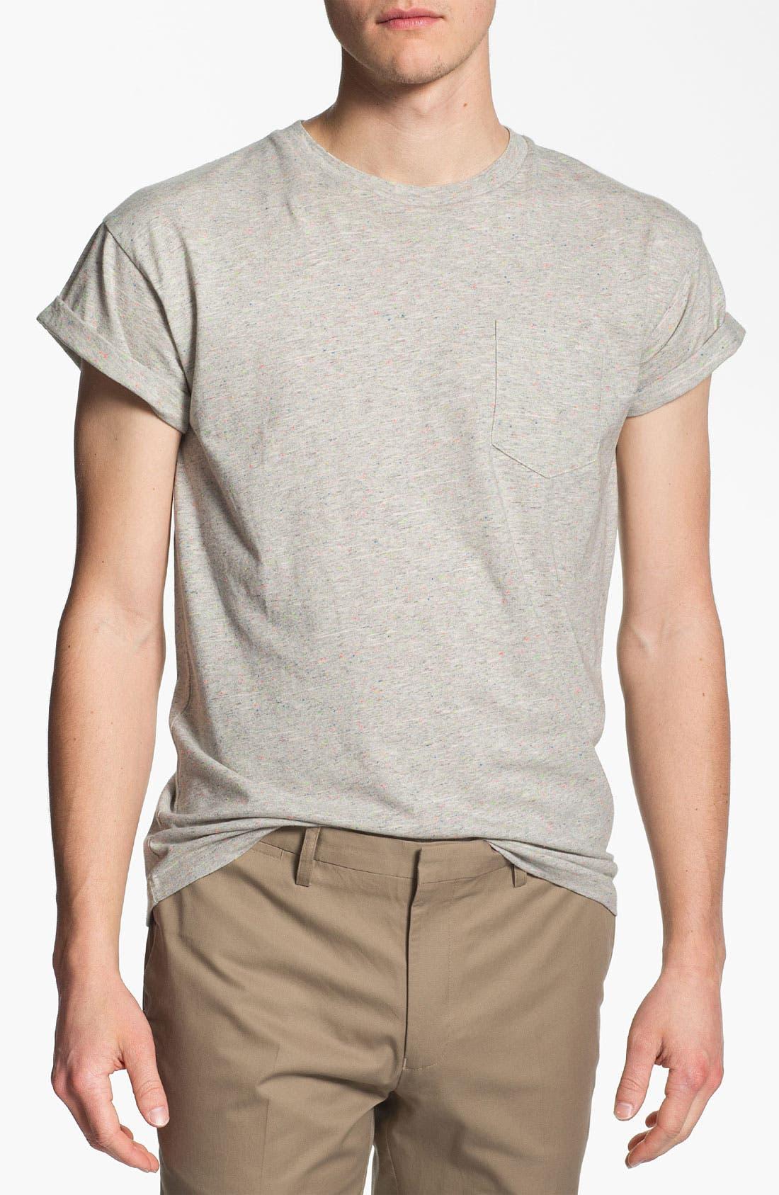 Alternate Image 1 Selected - Topman 'High Roller' Pocket T-Shirt