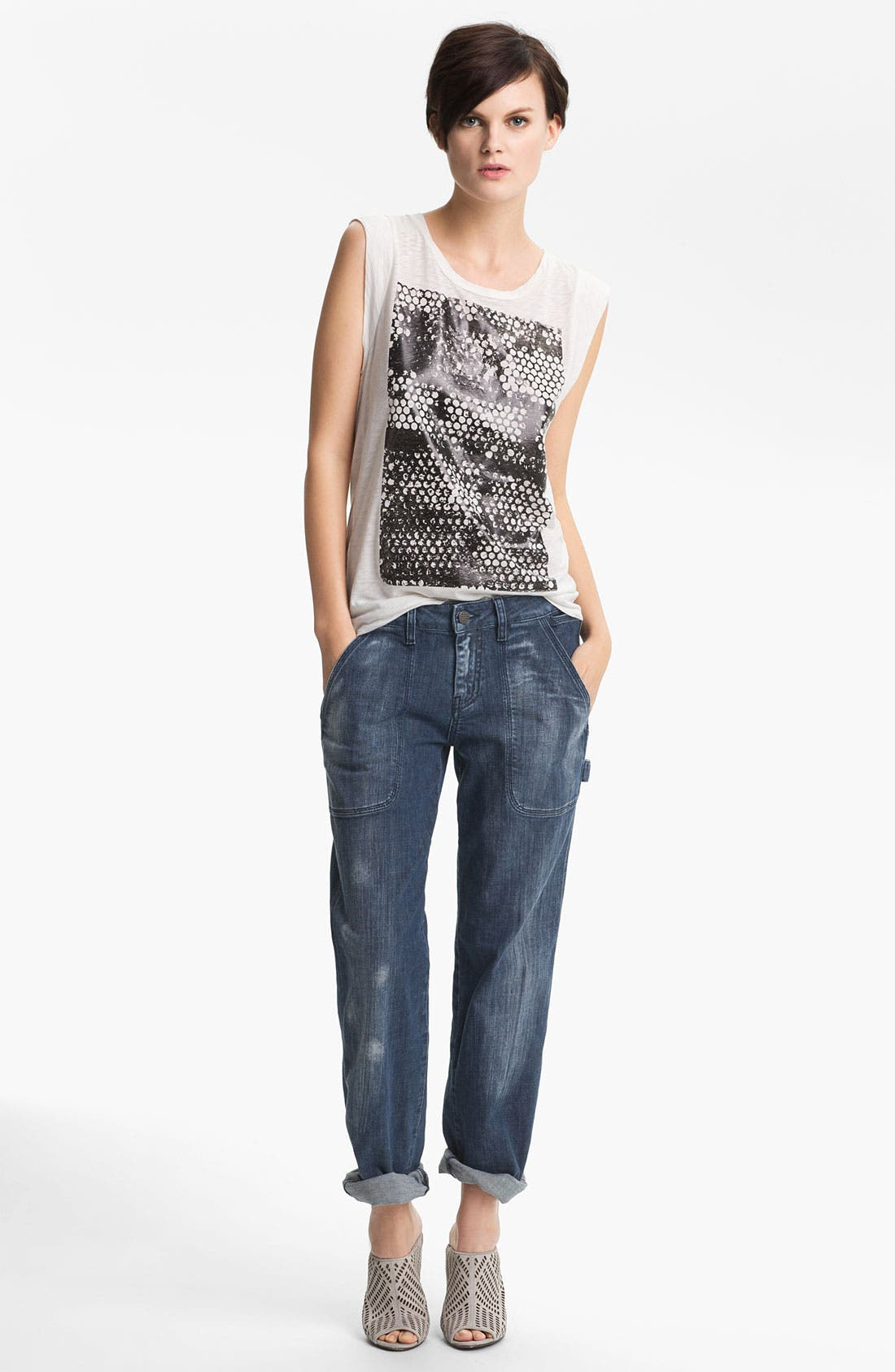 Alternate Image 4  - Kelly Wearstler 'Practitioner' Denim Pants