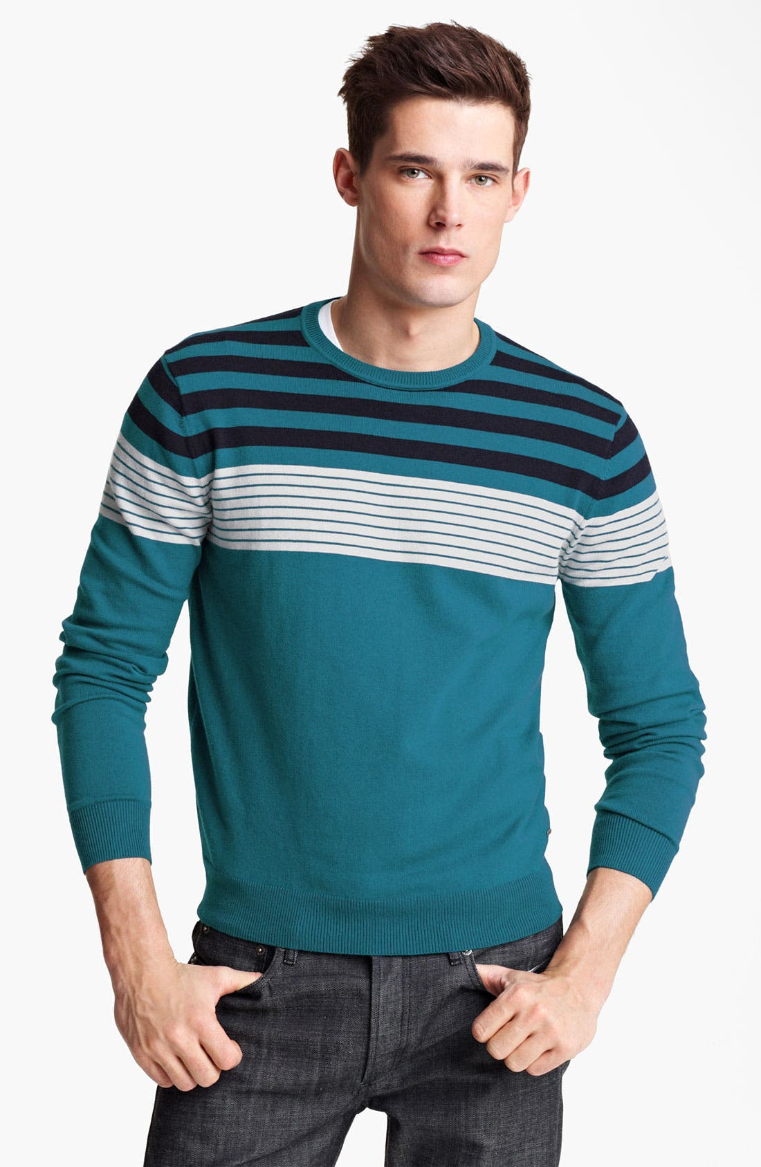 Alternate Image 1 Selected - Zegna Sport Crewneck Sweater