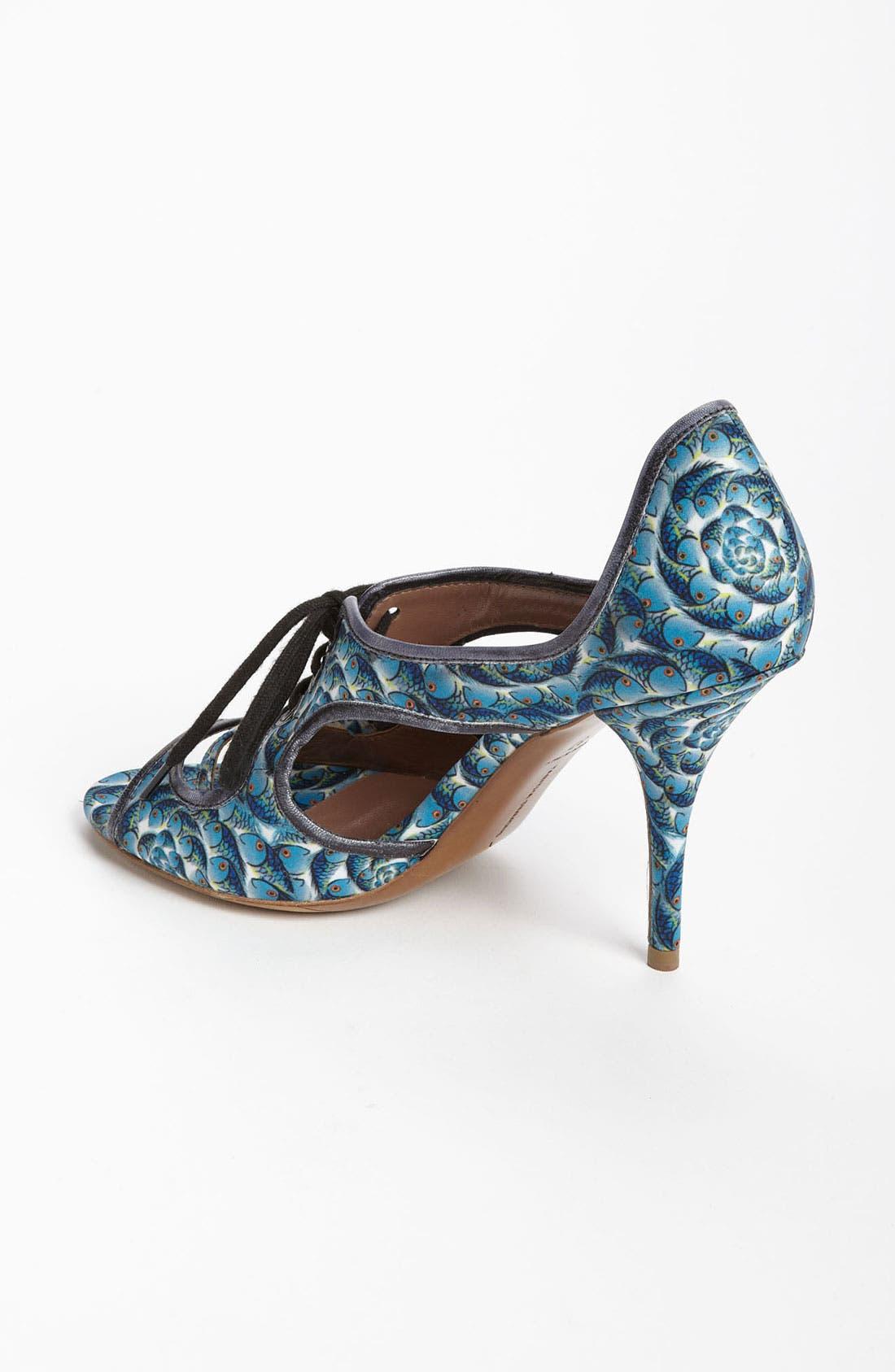 Alternate Image 2  - Tabitha Simmons 'Bertie' Cutout Fish Print Sandal