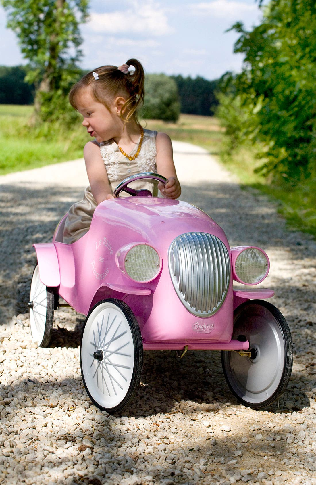 Alternate Image 2  - Baghera 'Le Mans' Pedal Car (Toddler Girls)