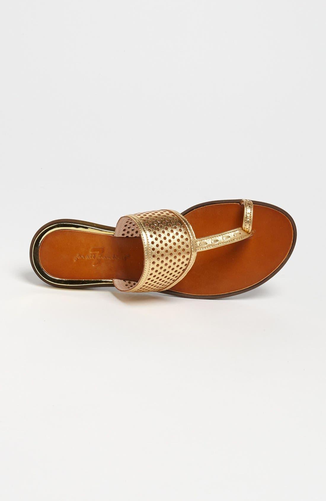 Alternate Image 3  - 7 For All Mankind® 'Makenna' Toe Loop Sandal (Online Only)