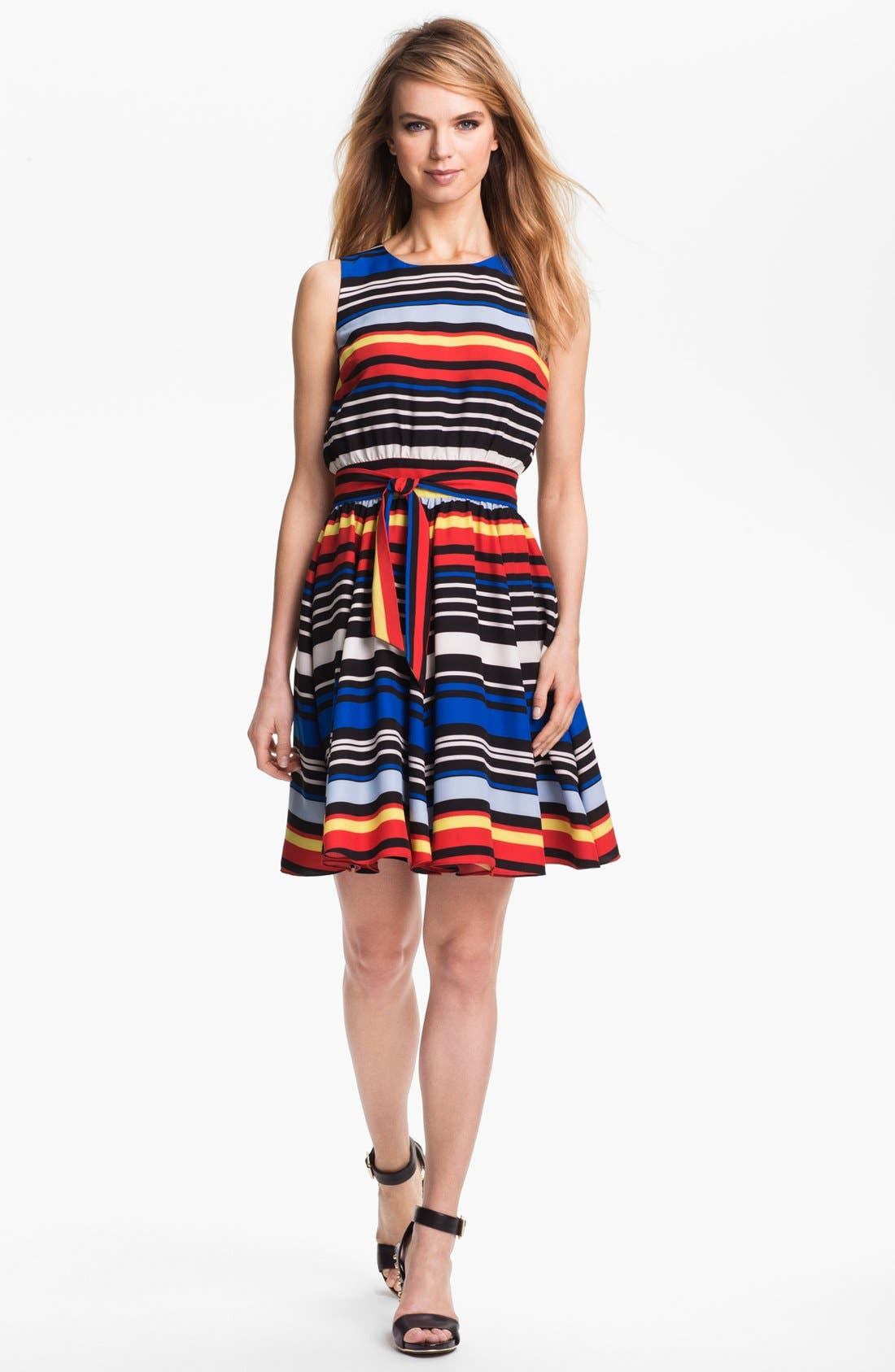 Alternate Image 1 Selected - Vince Camuto Stripe Dress