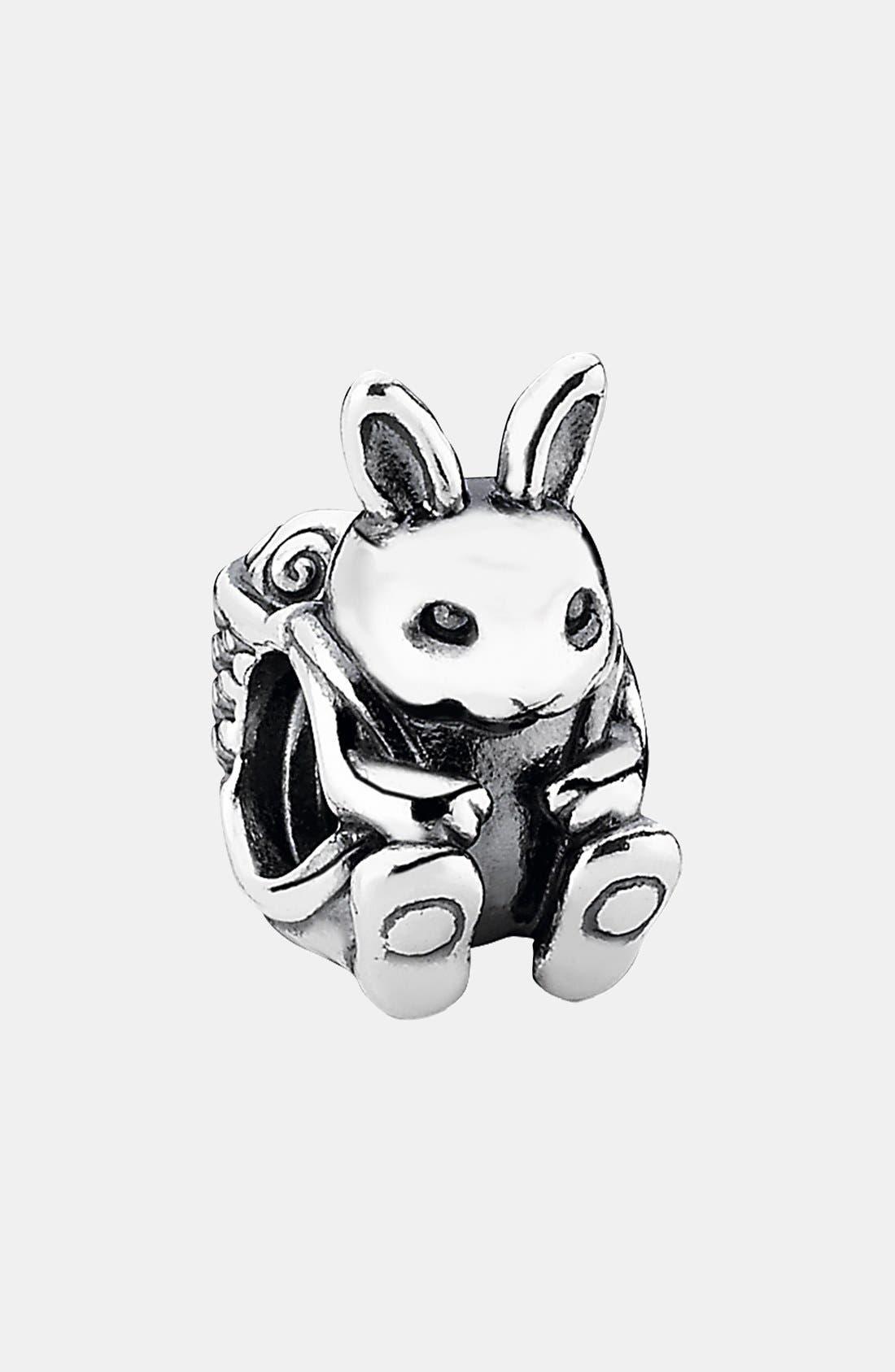 Alternate Image 1 Selected - PANDORA Easter Bunny Charm