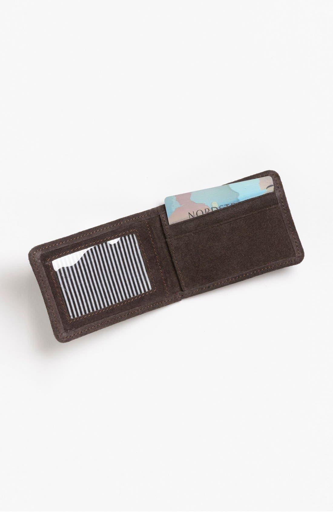 Alternate Image 3  - J Fold 'Smokestack' Folding Card Holder