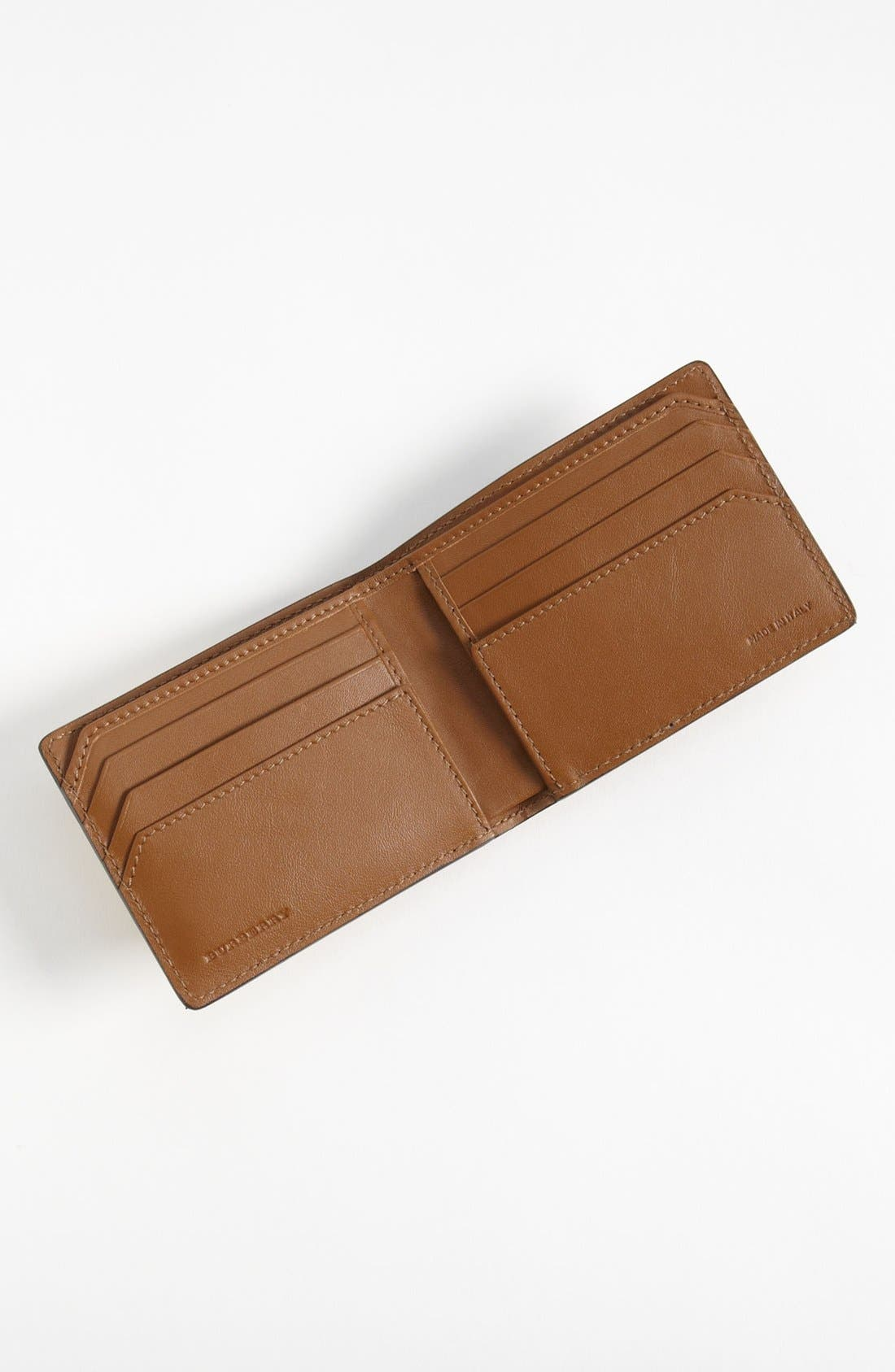 Alternate Image 3  - Burberry Ostrich Leather Wallet