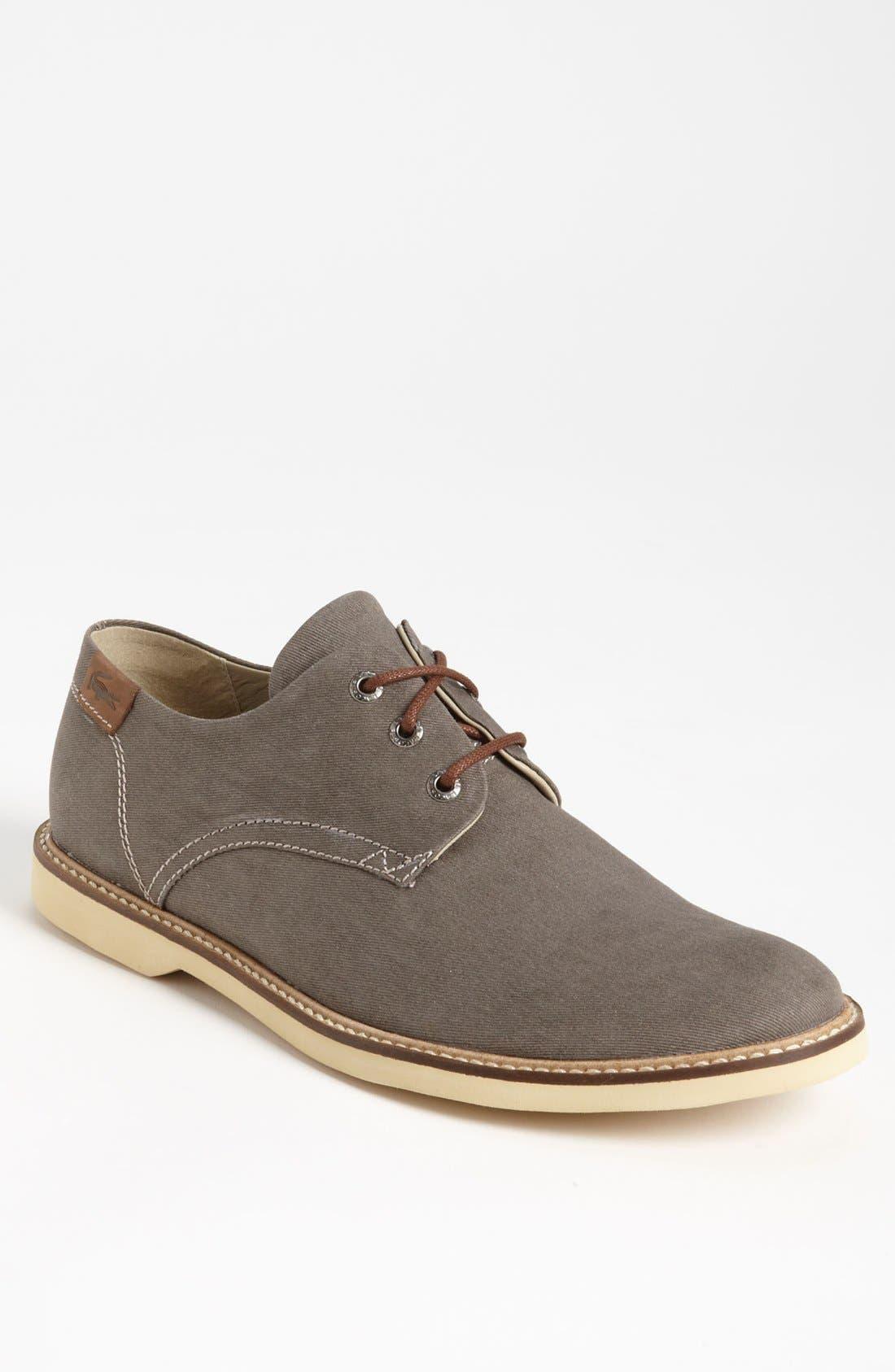 Main Image - Lacoste 'Sherbrooke 7' Twill Buck Shoe