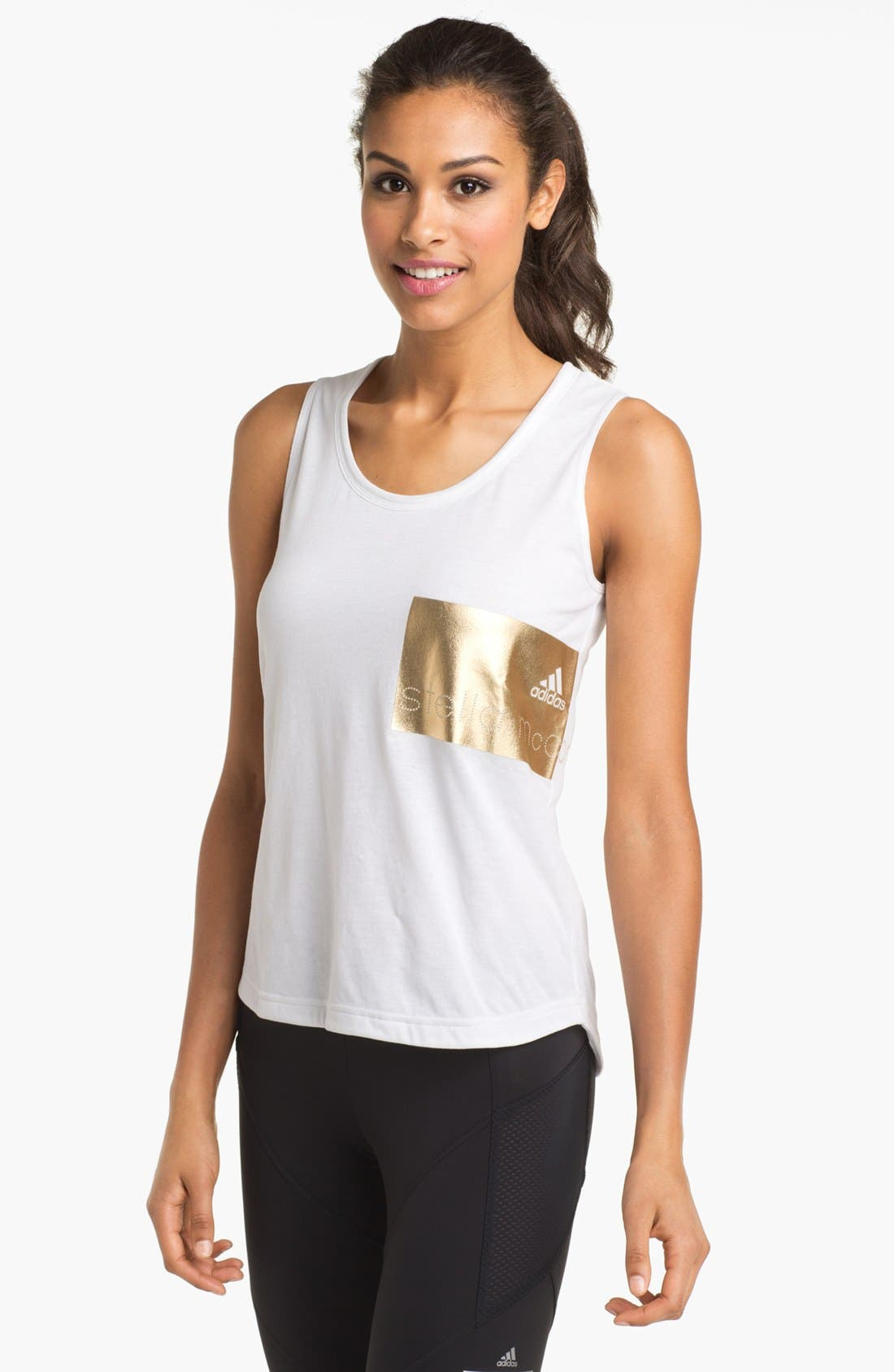 Main Image - adidas by Stella McCartney 'Essentials - Packaged' Tank