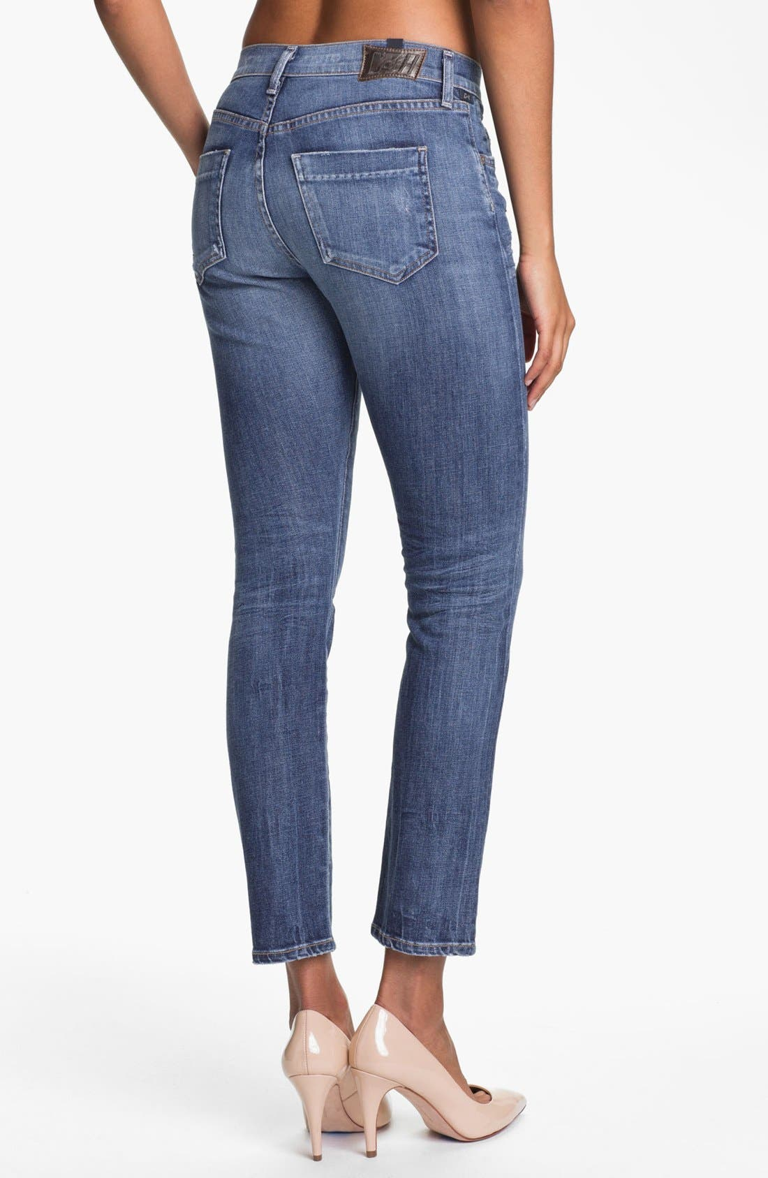 Alternate Image 2  - Citizens of Humanity 'Carlton' High Waist Straight Leg Jeans (Nova)