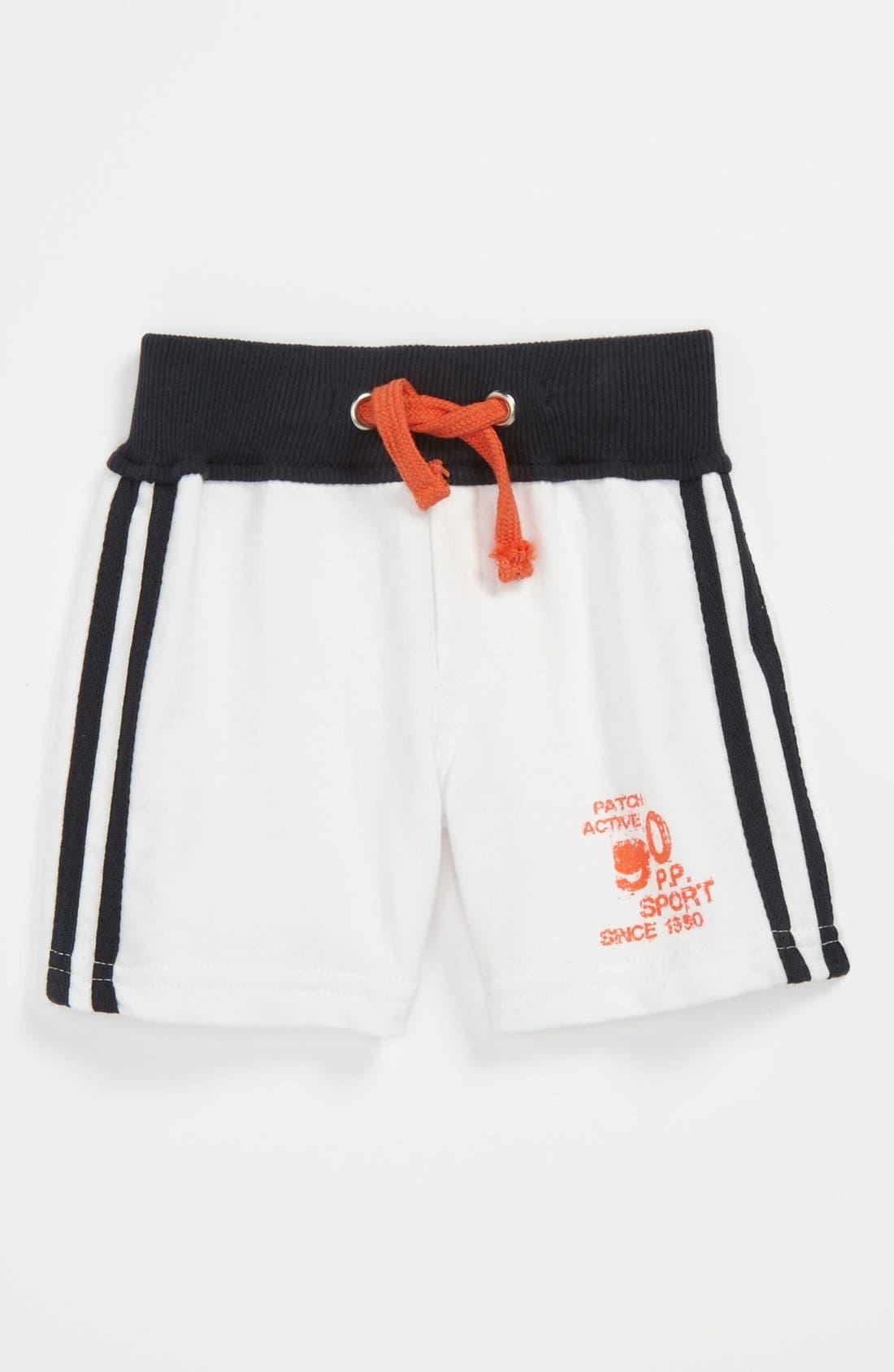 Main Image - Pumpkin Patch Knit Shorts (Toddler)