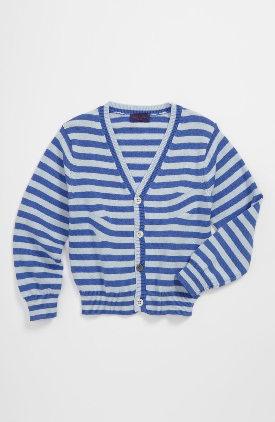 Alternate Image 1 Selected - Paul Smith Junior Stripe Cardigan (Baby)