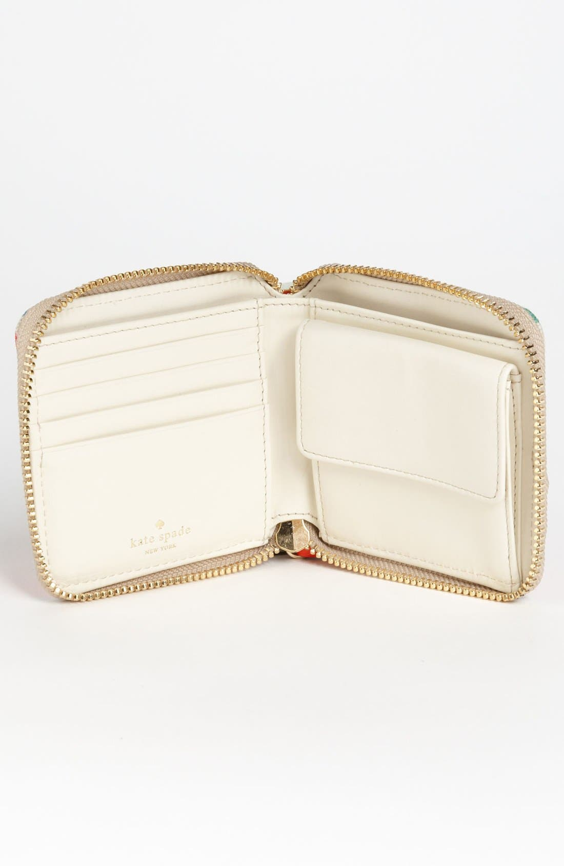 Alternate Image 3  - kate spade new york 'grove court floral - delores' french wallet