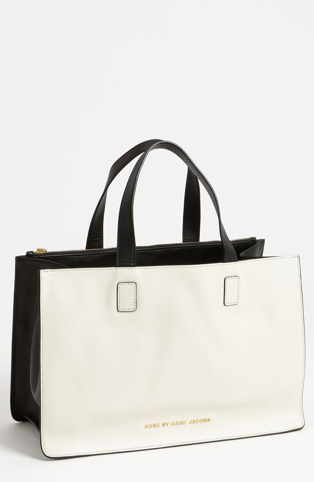 Alternate Image 1 Selected - MARC BY MARC JACOBS 'Top Chicret' Colorblocked Tote