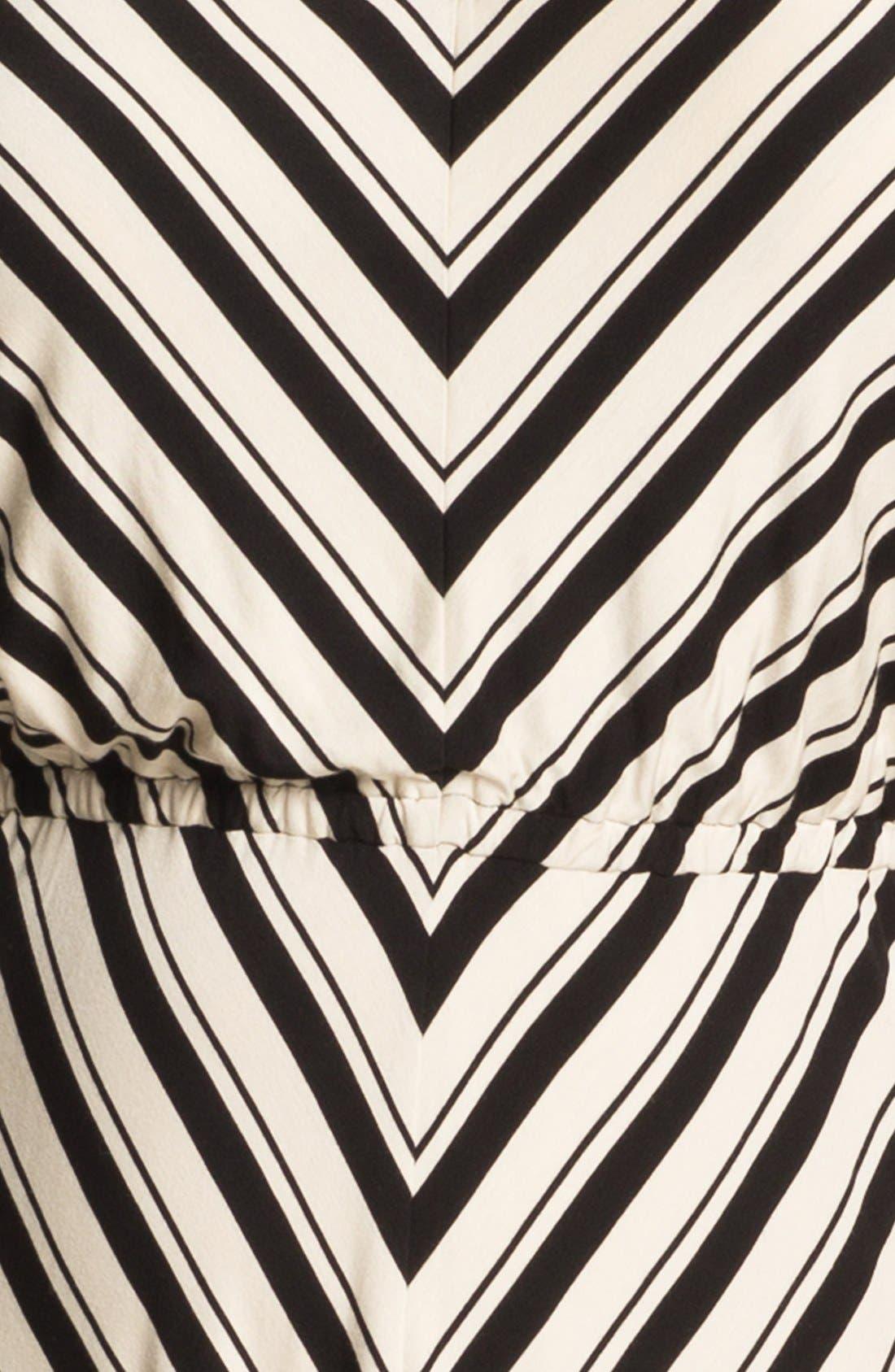 Alternate Image 3  - Calvin Klein Stripe Jersey Maxi Dress (Plus Size)
