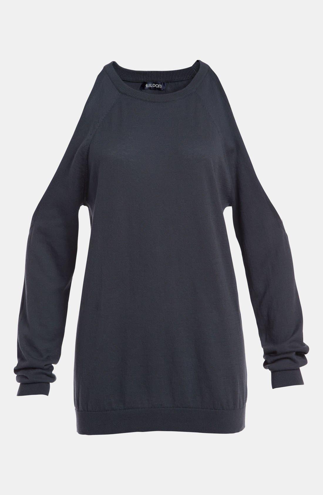 Alternate Image 3  - Tildon Open Shoulder Pullover