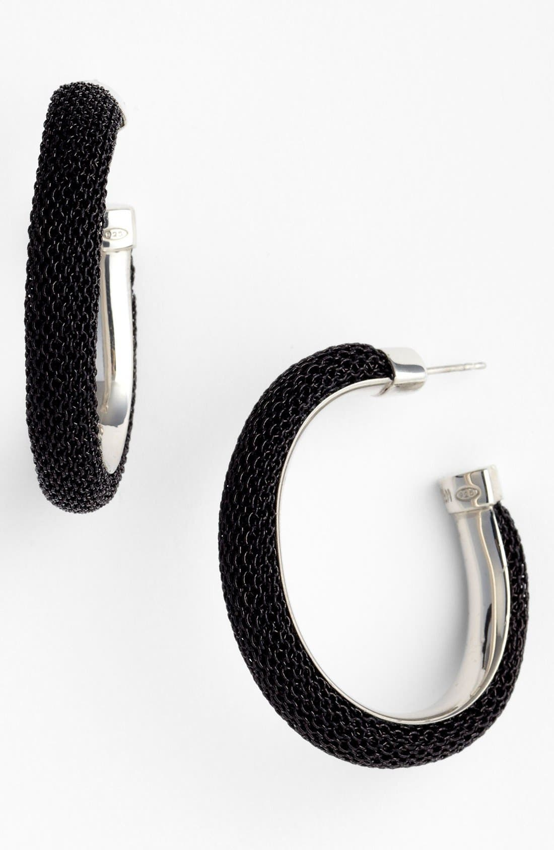 Alternate Image 1 Selected - Adami & Martucci 'Mesh' Oval Hoop Earrings (Nordstrom Exclusive)