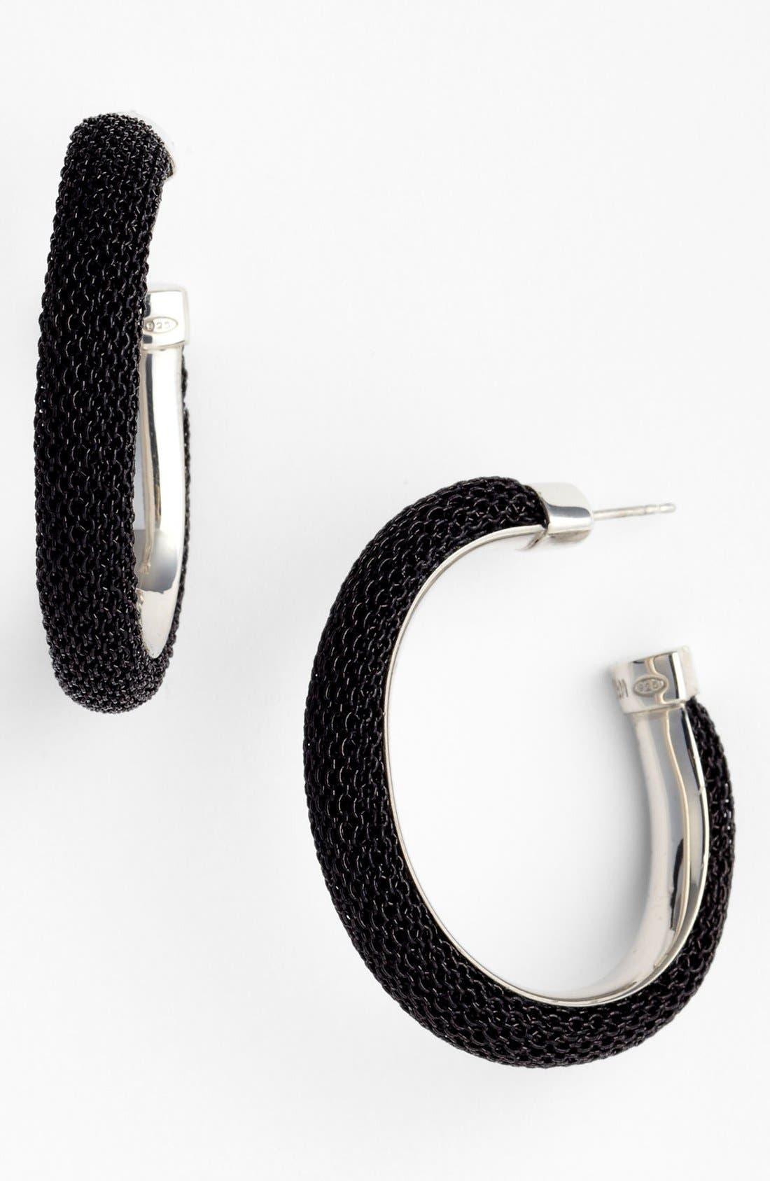 Main Image - Adami & Martucci 'Mesh' Oval Hoop Earrings (Nordstrom Exclusive)