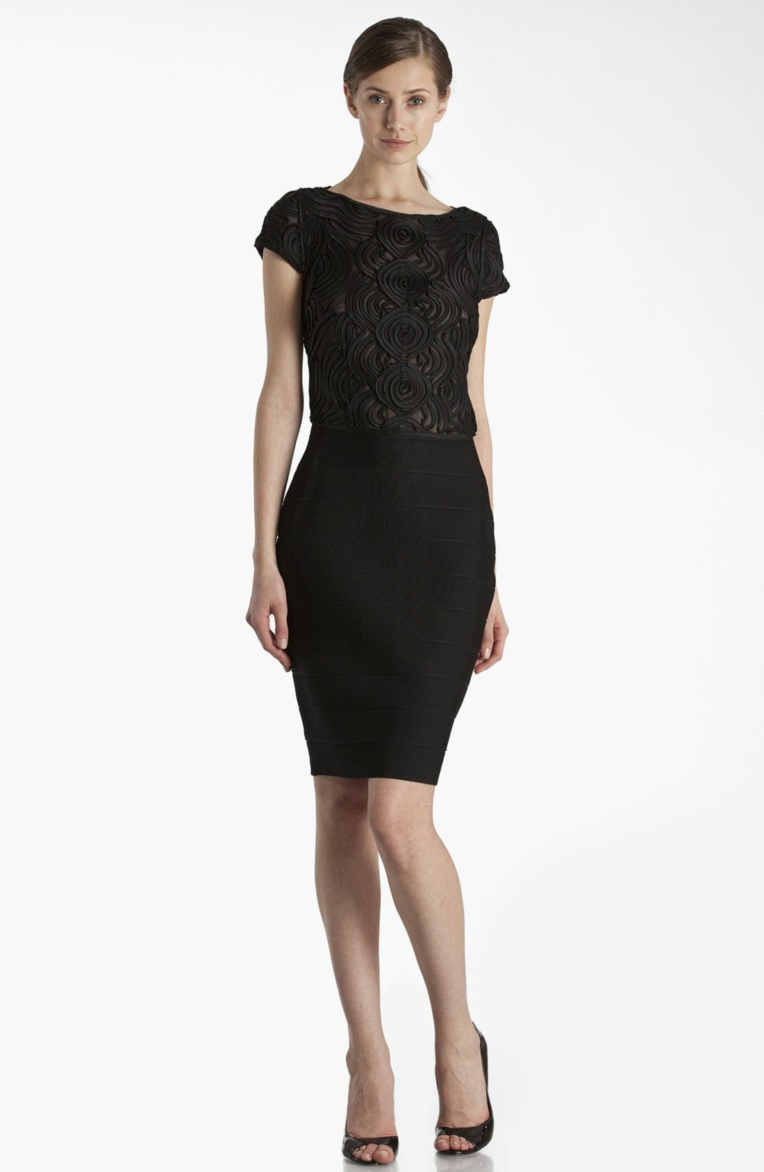 Main Image - JS Collections Soutache Sheath Dress