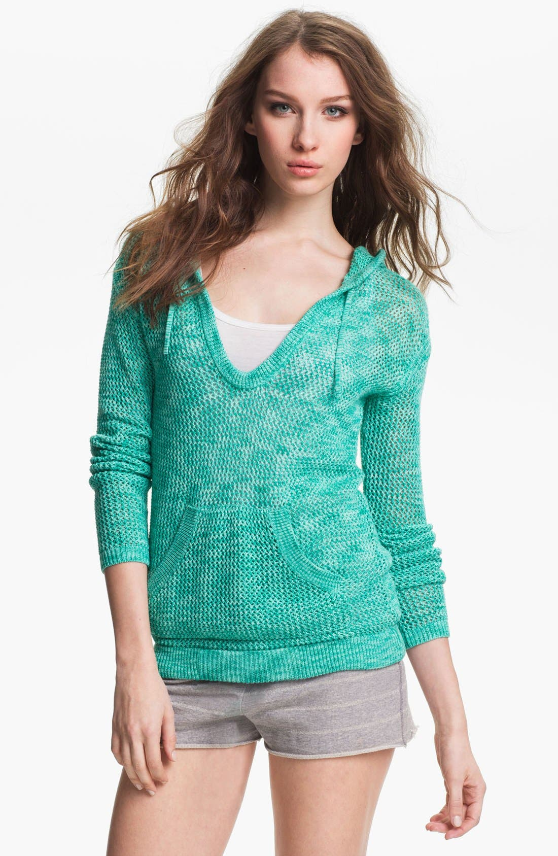 Main Image - Two by Vince Camuto Hooded Sweater
