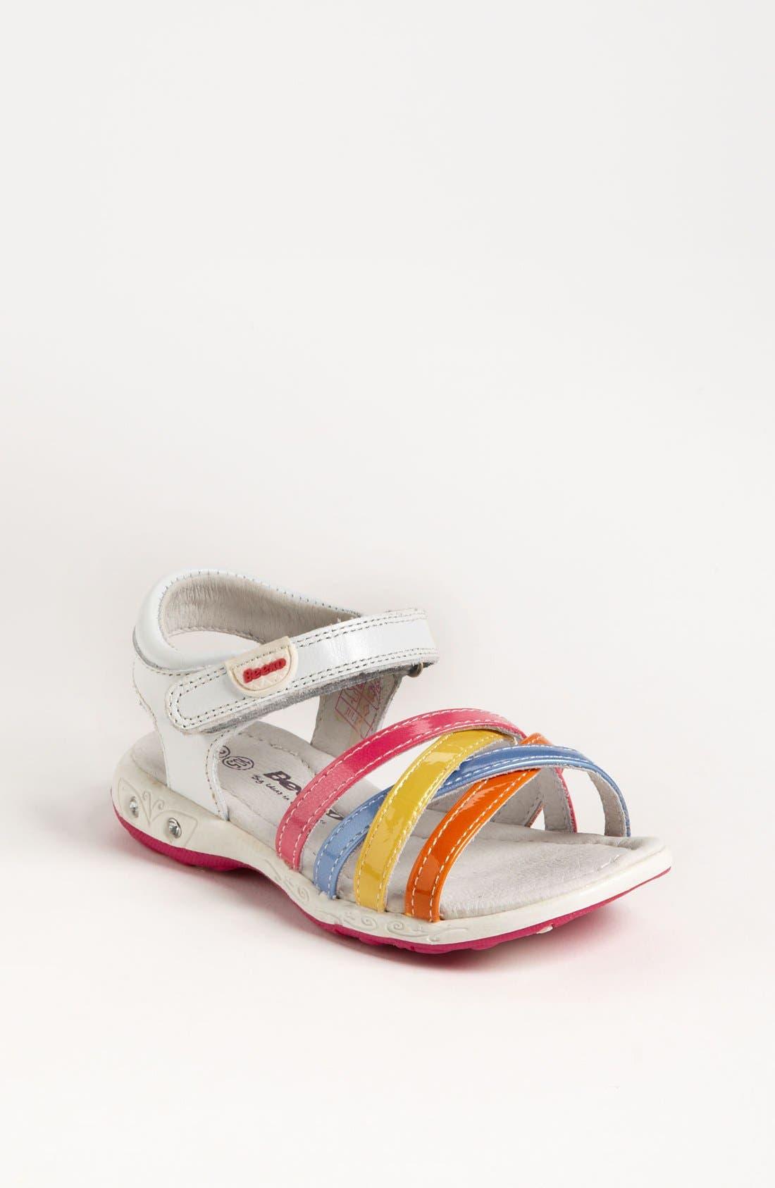 Alternate Image 1 Selected - Beeko 'Julia' Sandal (Toddler)