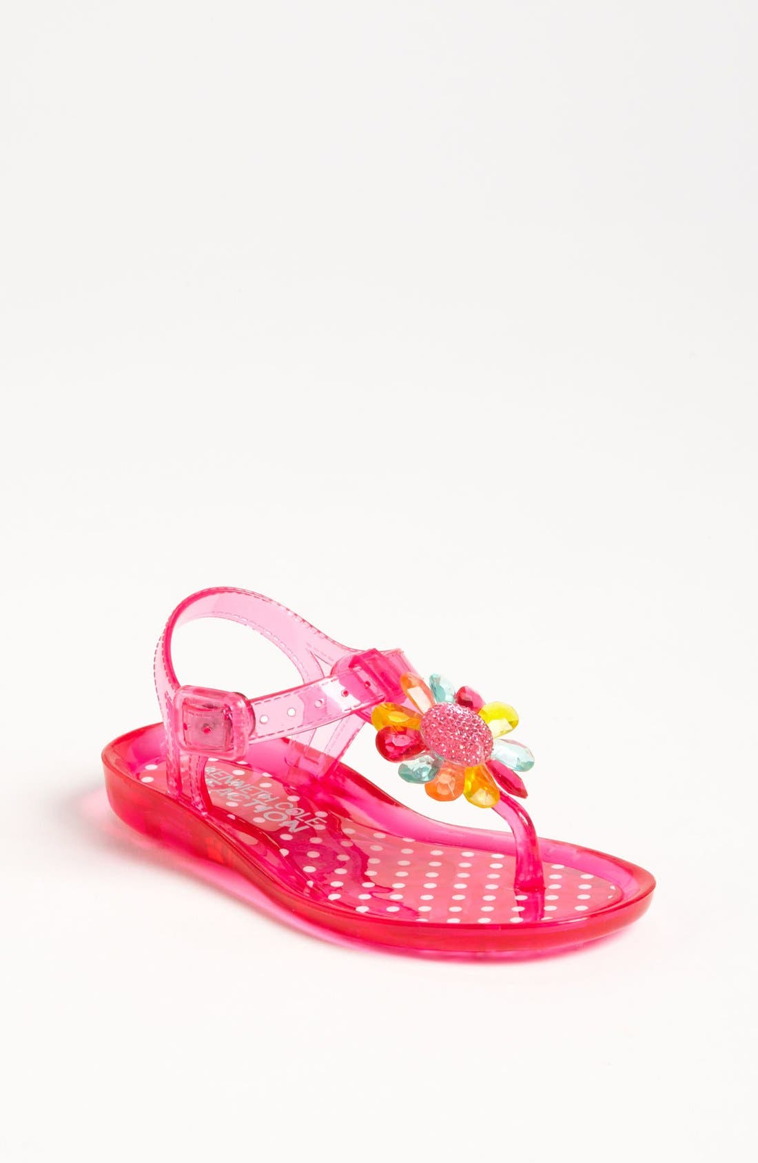 Alternate Image 1 Selected - Kenneth Cole Reaction 'Call The Jelly' Sandal (Walker, Toddler & Little Kid)